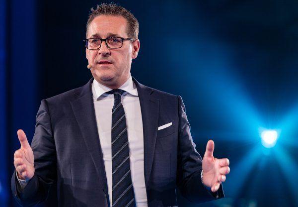 Heinz-Christian Strache schwört seine Anhänger auf das Jahr 2018 ein.