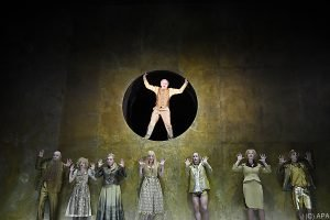 """jedermann (stirbt)"" am Burgtheater"