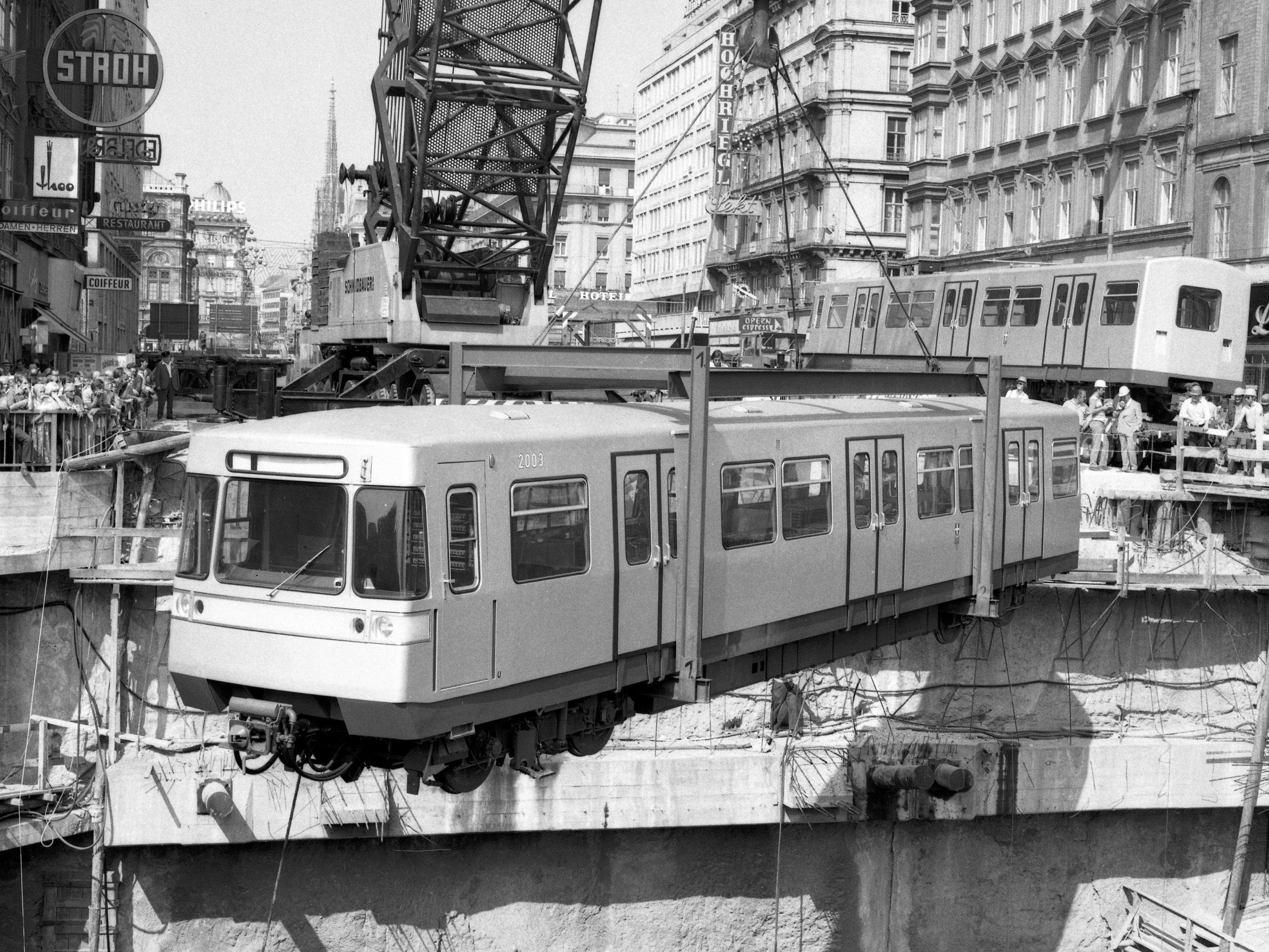 40 Jahre U Bahn In Wien Geburtstags Chronik Zum Jubiläum Zeigt