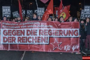 Eat the rich! Opernballdemo 2018 - Wien - 08.02.2018