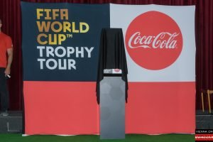 FIFA World Cup Trophy Tour by Coca Cola Wien - Wiener Rathaus - 11.02.2018