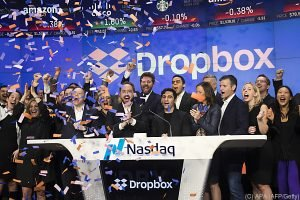Dropbox feierte starkes Börsendebüt in New York