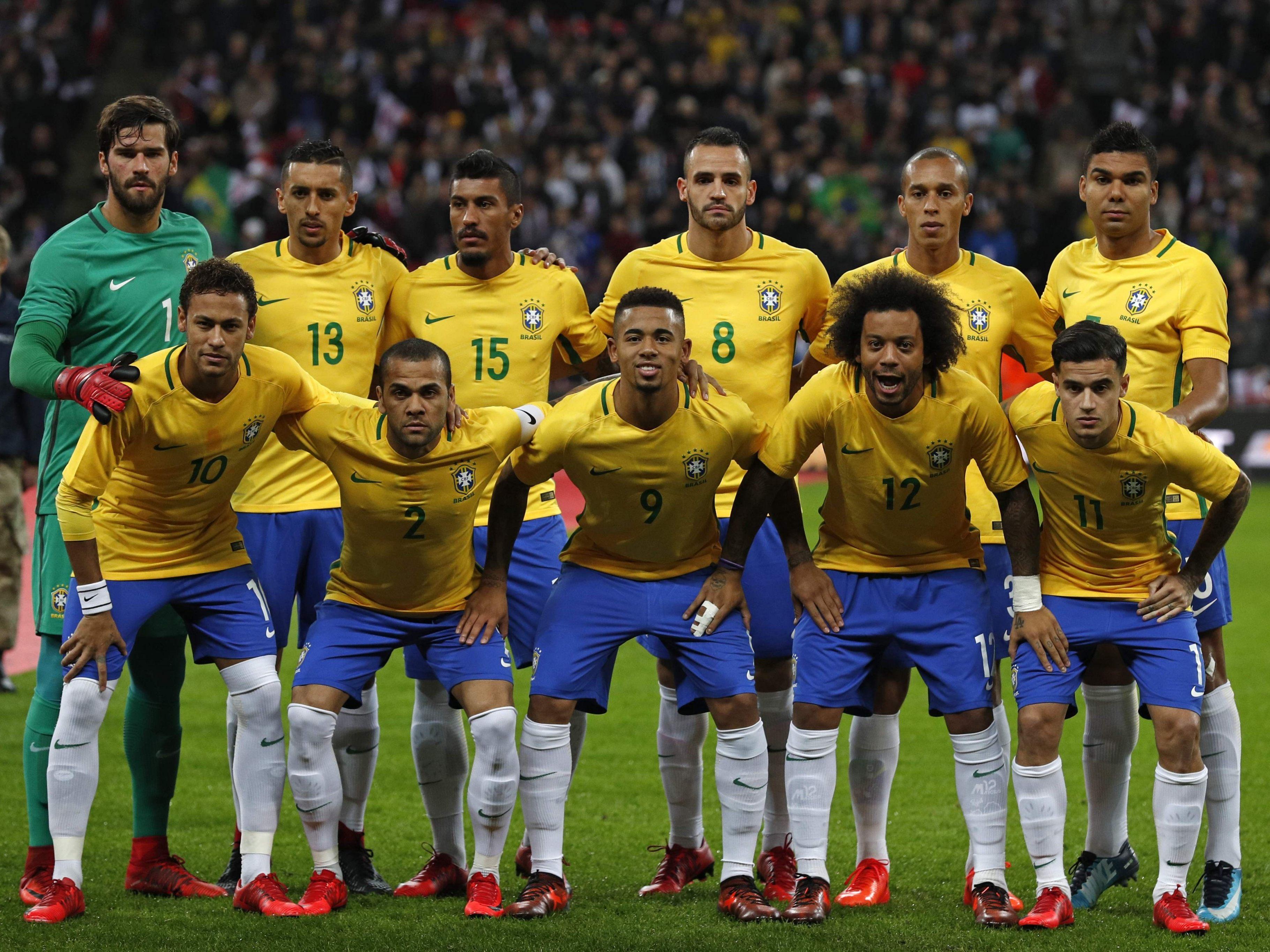Brasilien FuГџballer