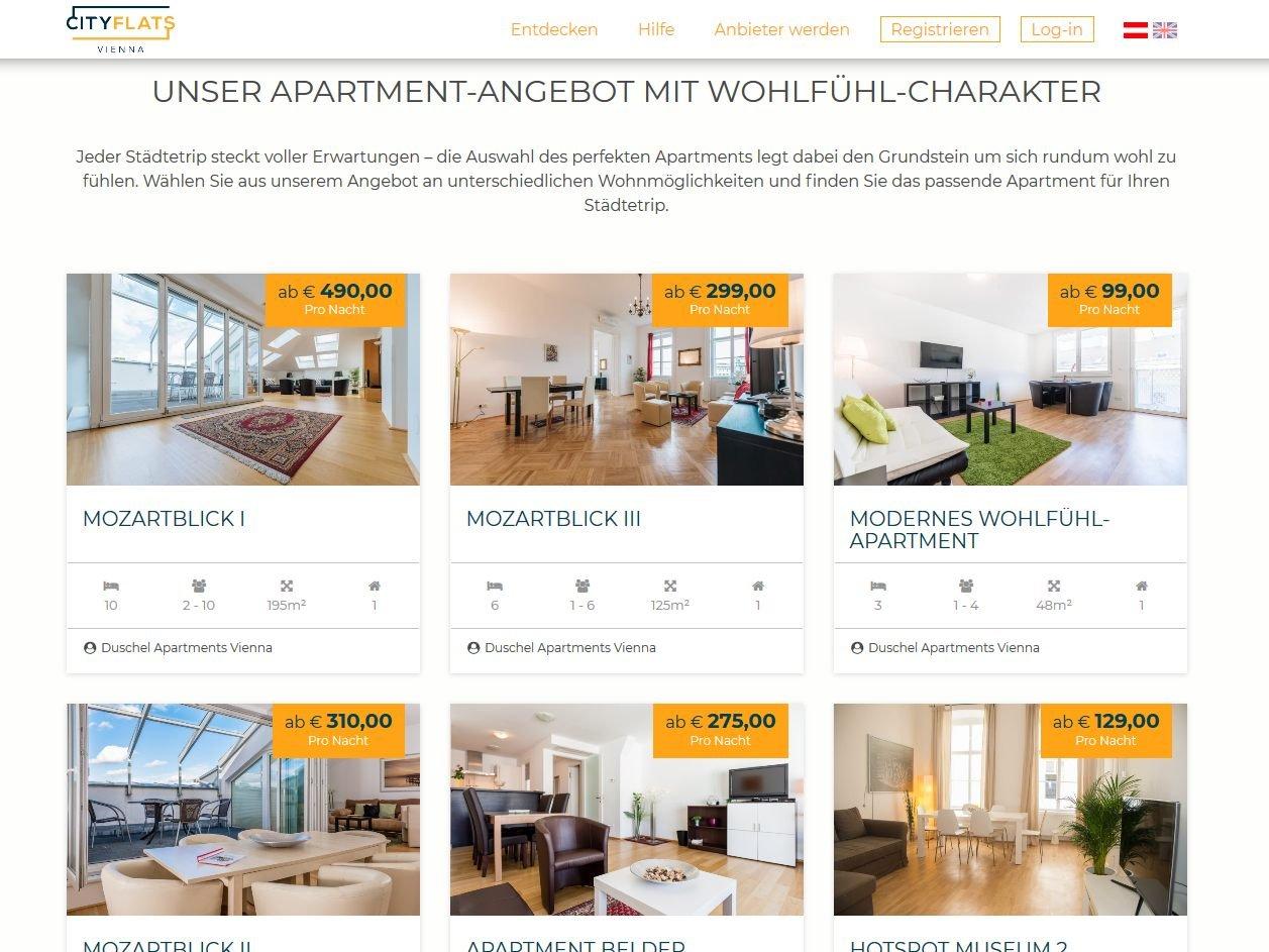 Airbnb Bettwäsche start-up cityflats: wiener airbnb mit hotelstandards - wien aktuell