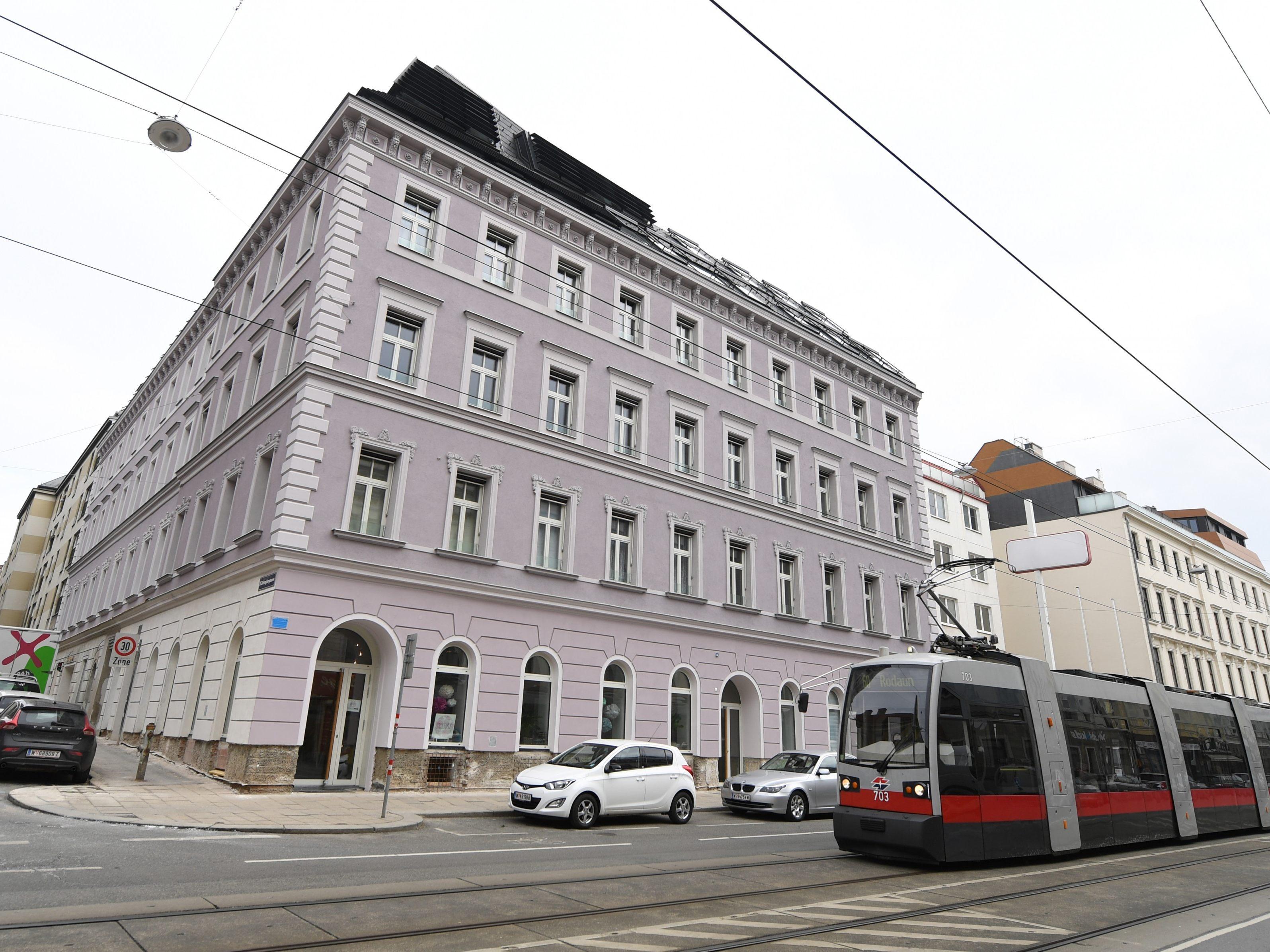 Grunderzeithaus In Wien Erstrahlt Nach Gasexplosion In Neuem Glanz