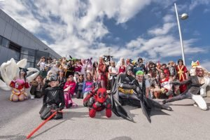Cosplay, Comics, Superhelden und Star Wars bei der Vienna Comix 2018 in Wien