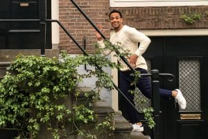 Cesár Sampson begeisterte bei Song Contest-Pre-Event in Amsterdam