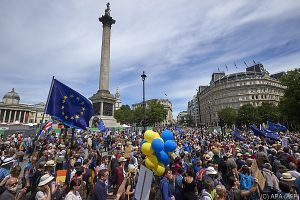 Protestmarsch gegen Brexit in London