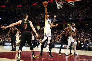 Warriors nach Sieg in Cleveland zum 6. Mal NBA-Champion