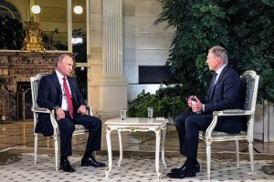 Fast 900.000 sehen Putin-Interview