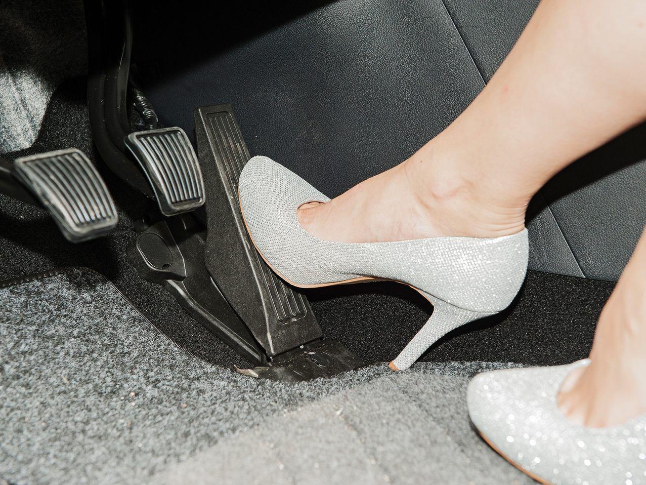 Autofahren Flip Flops