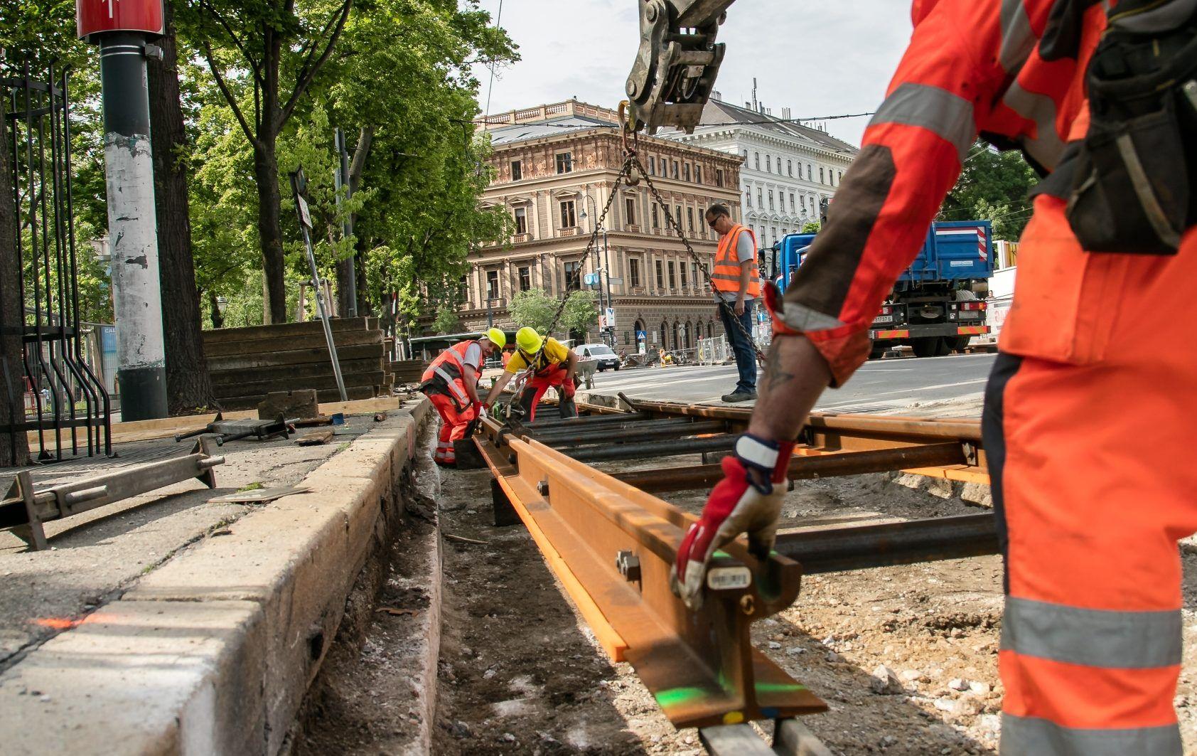 Gleisarbeiten in Wien: Staus auf Ring, Unterer Donaustraße und Praterstraße befürchtet