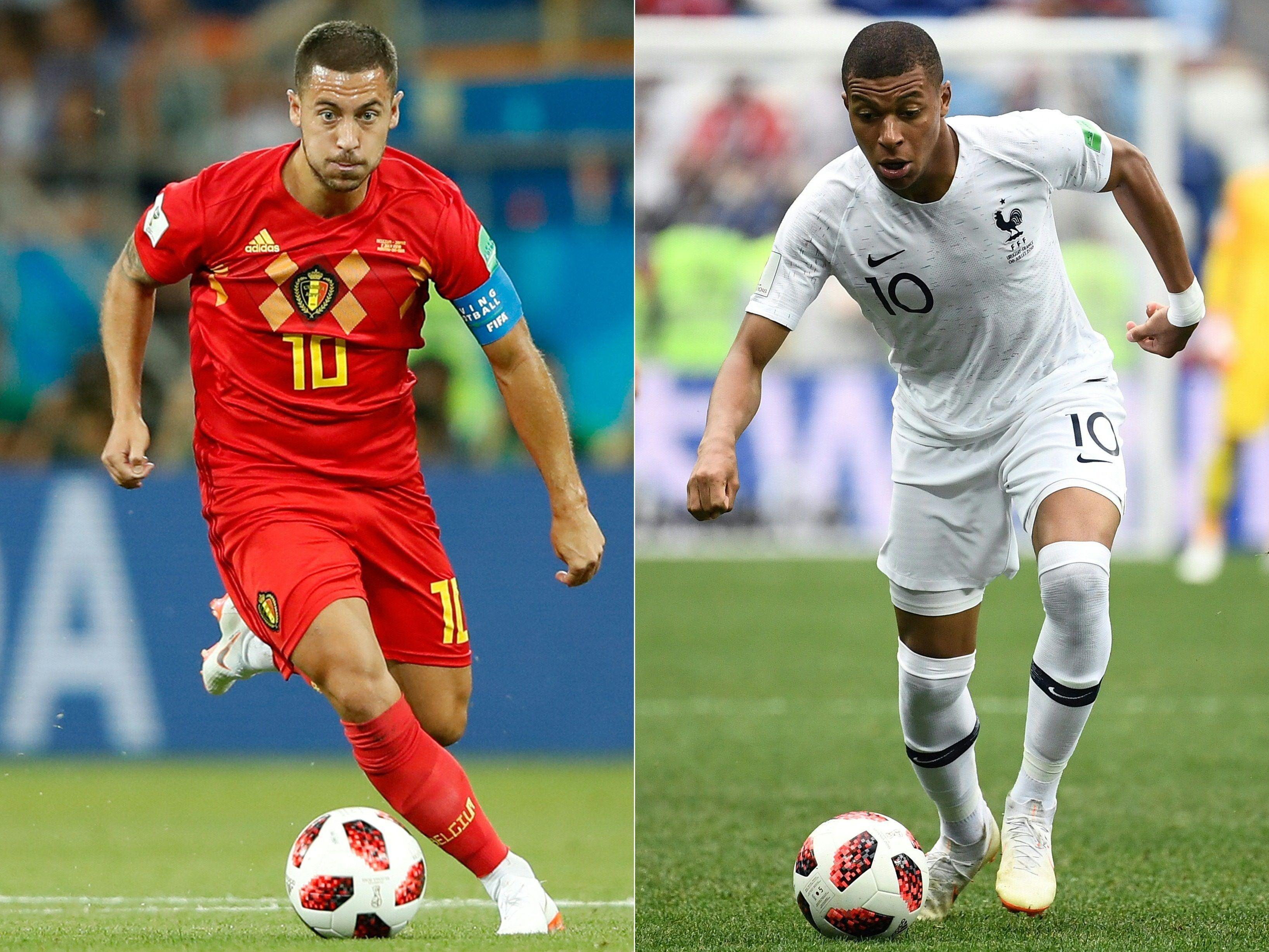 Hier Sehen Sie Das Wm Halbfinale Zwischen Frankreich Und Belgien Im Live Stream Und