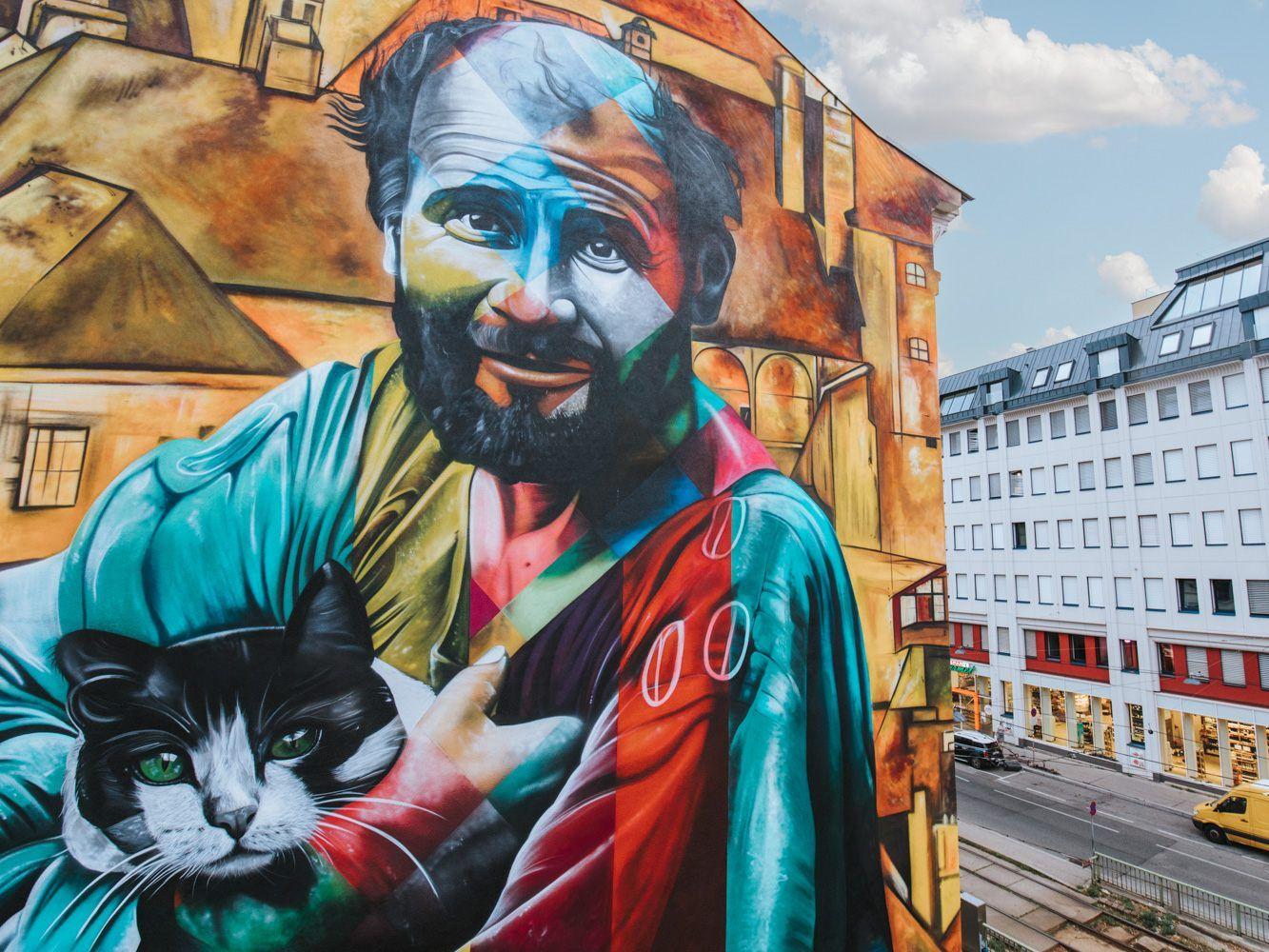 Großartige Kunstwerke beim Calle Libre in Wien. ae2ab0afcb1