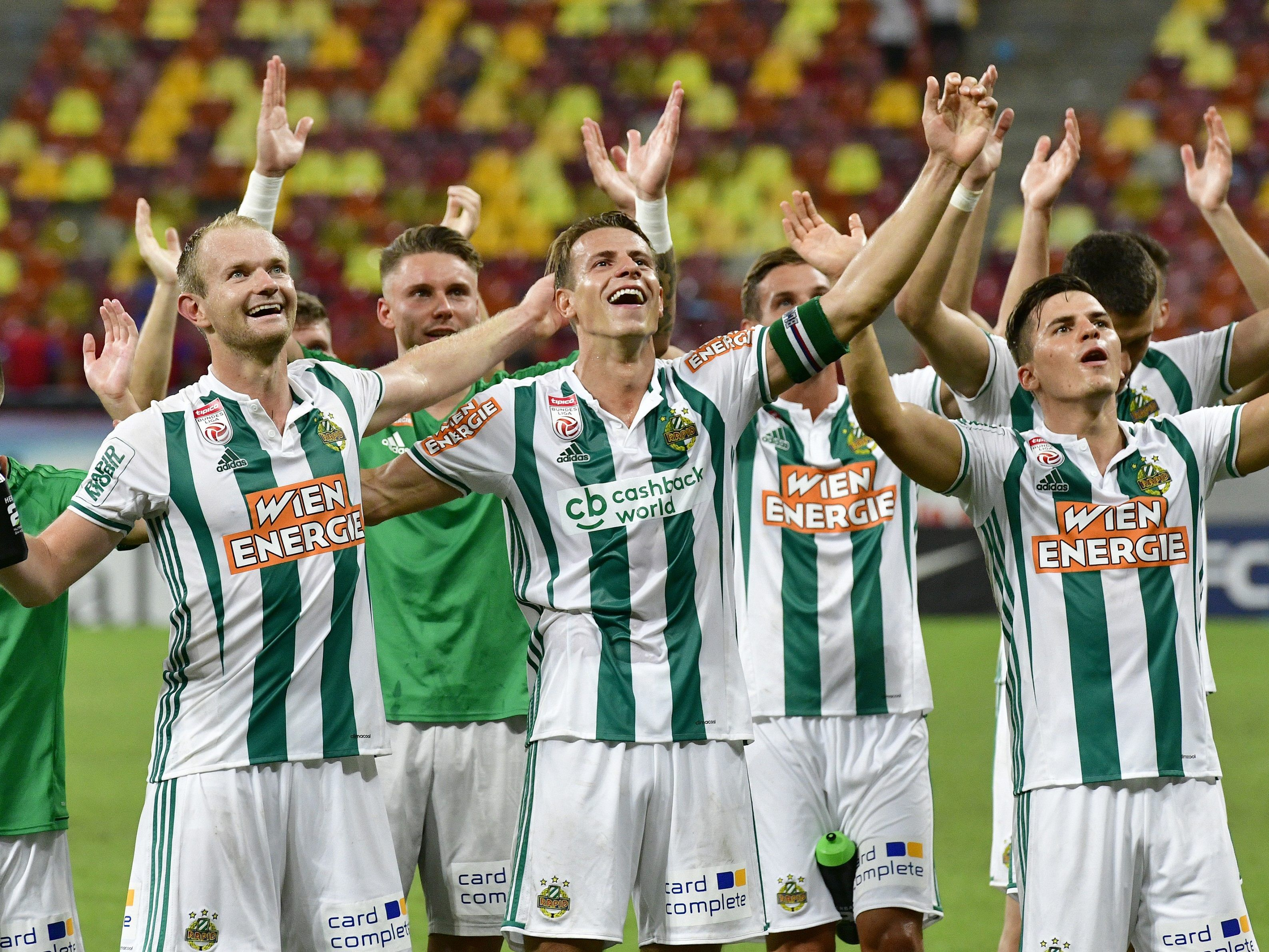 Rapid Wien spielt ab 20. September in der EL-Gruppenphase