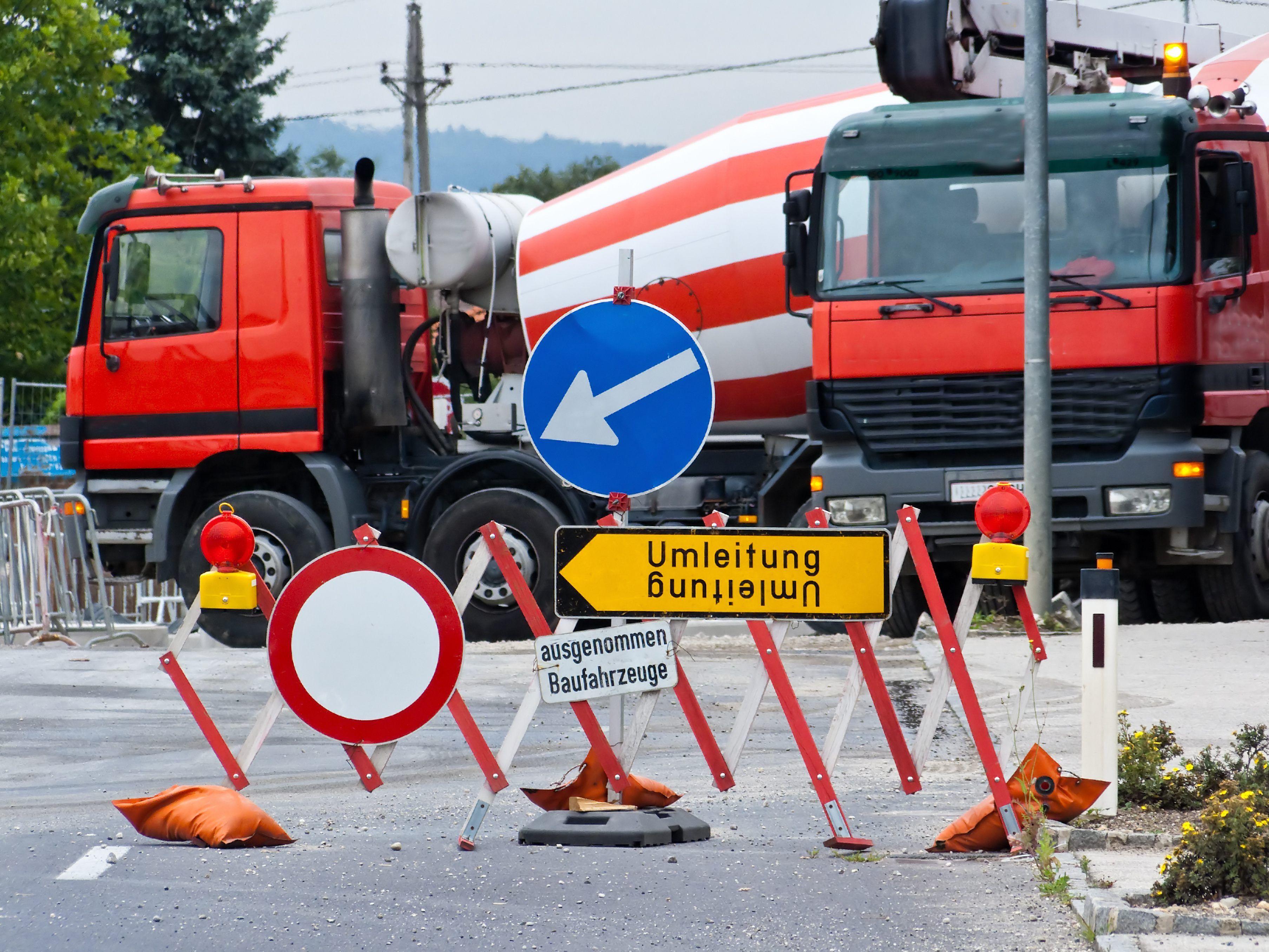 Wien Sperren Wegen Bauarbeiten In Johnstraße Und Hütteldorfer