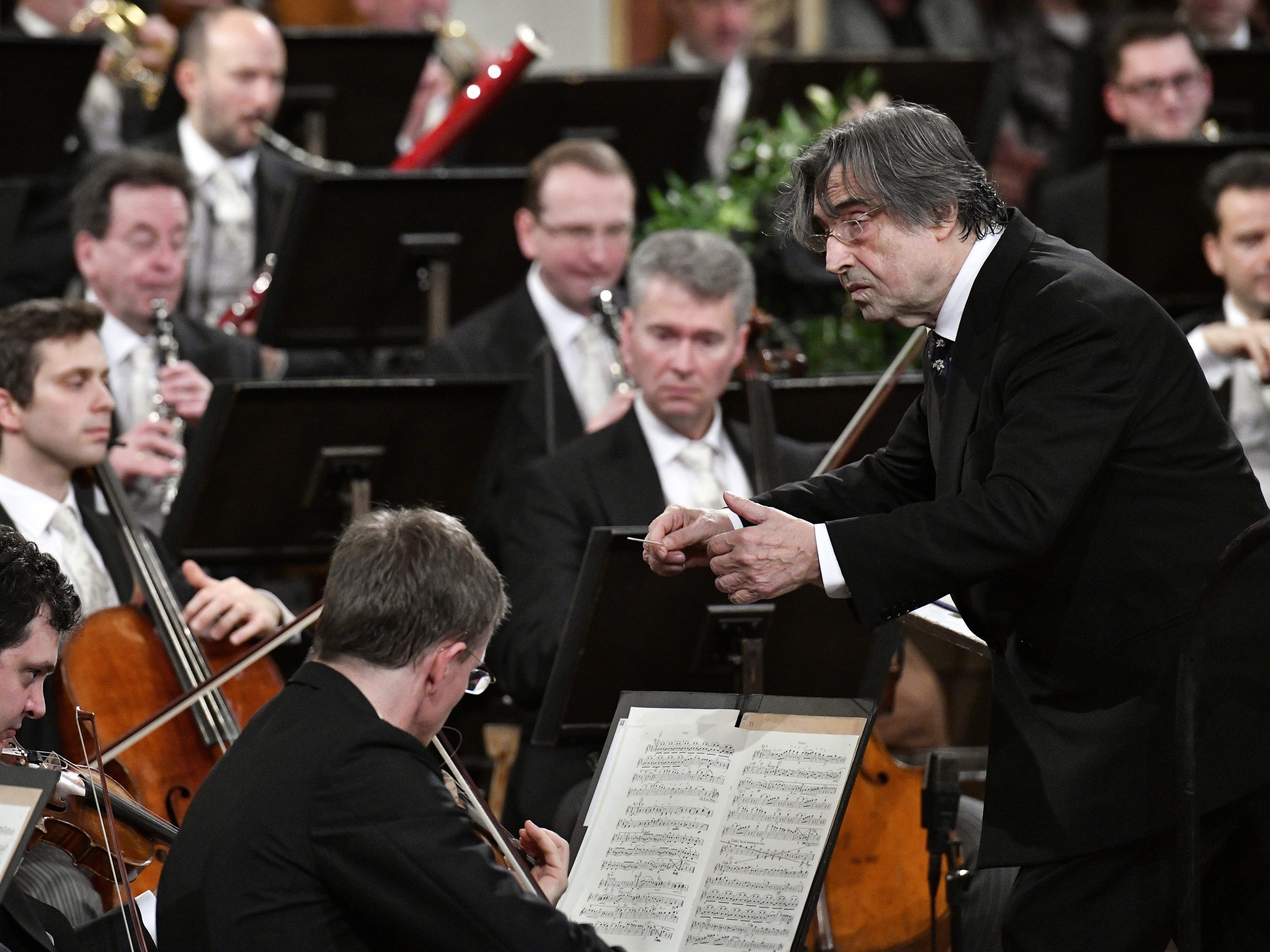 Die Wiener Philharmoniker spielen am 13. November in Rom.