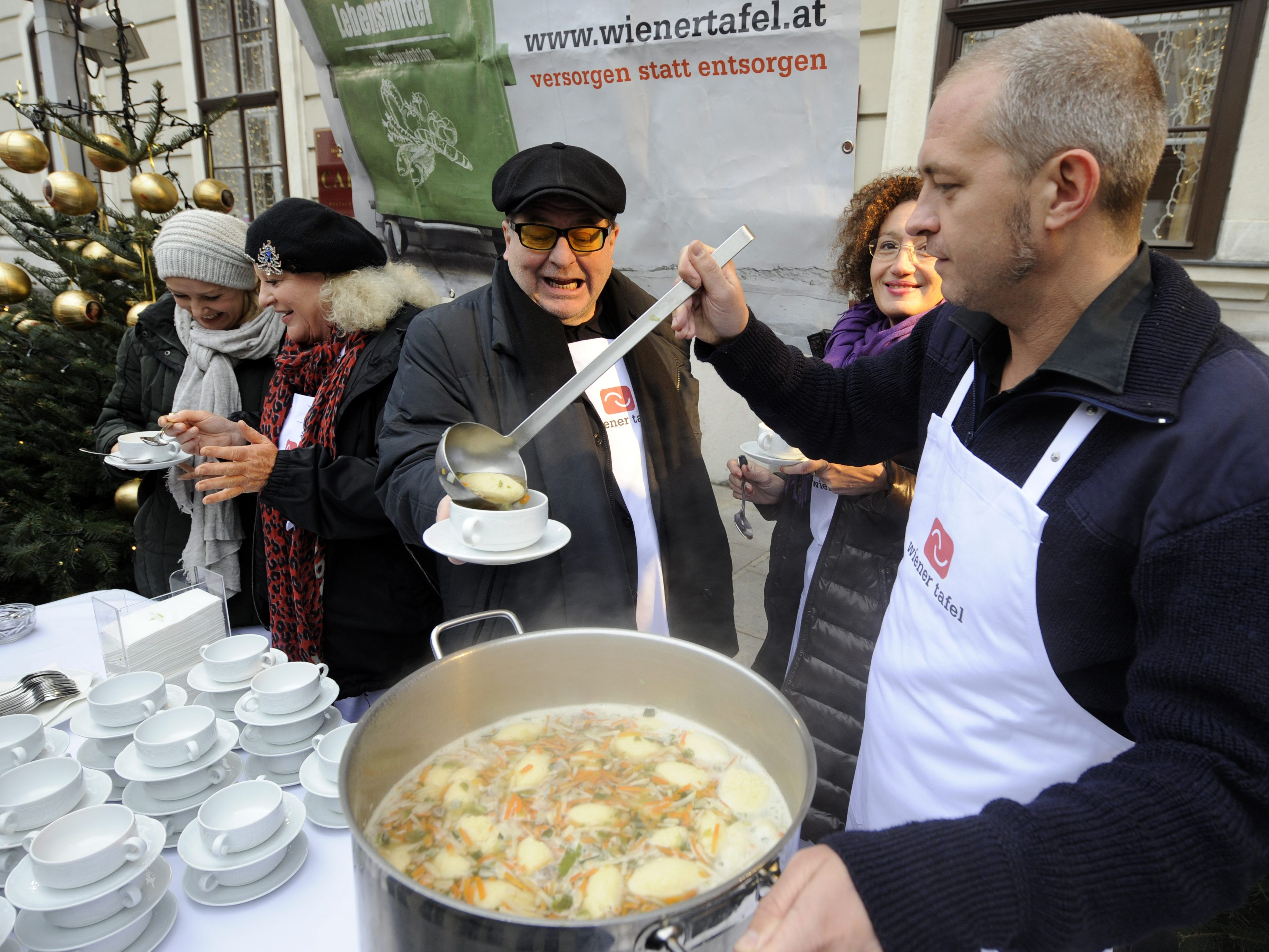"Die Aktion der Wiener Tafel ""Suppe mit Sinn"", startet am 2. November."
