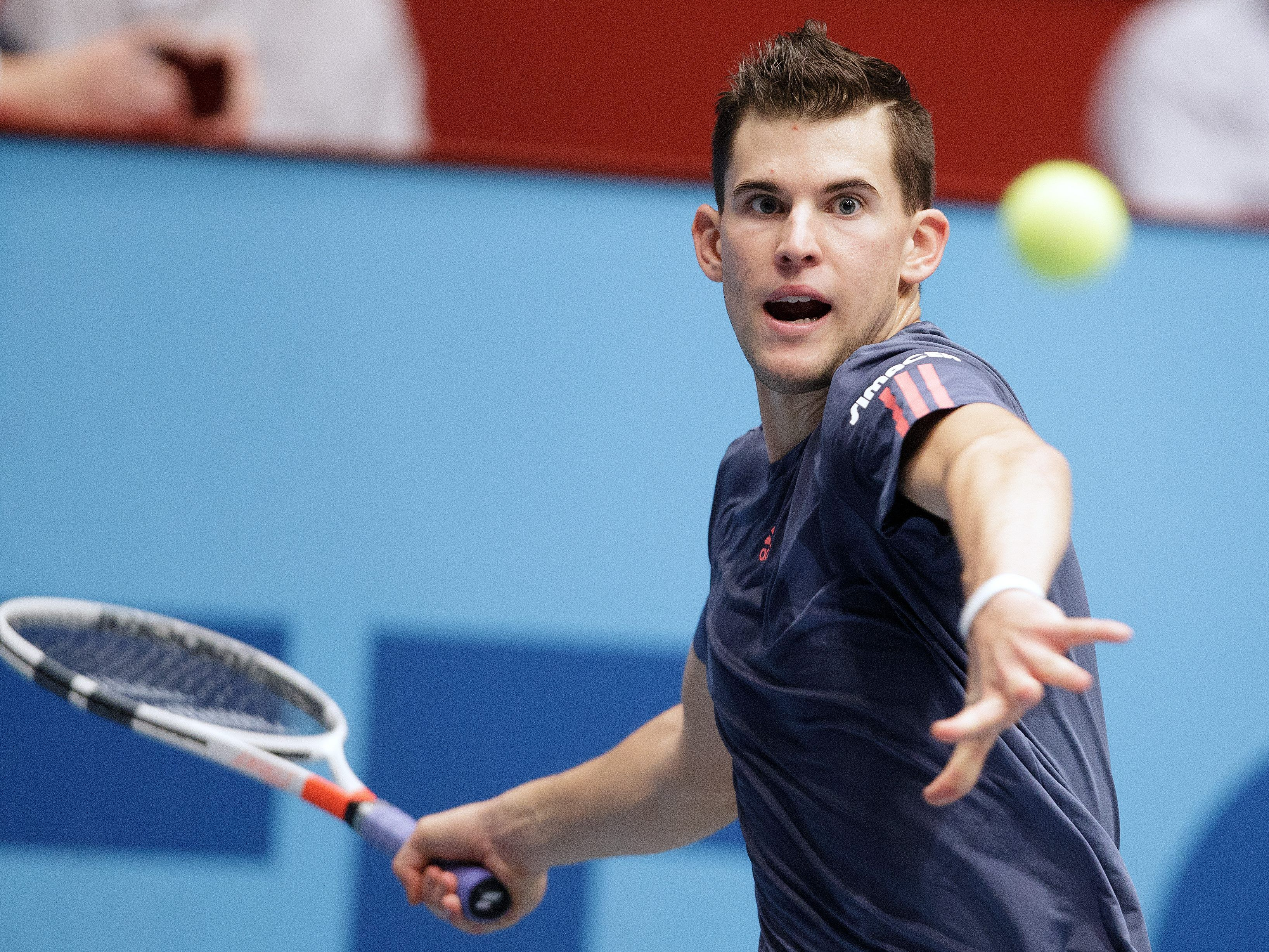 Dominic Thiem gilt in der Wiener Stadthalle als Favorit.