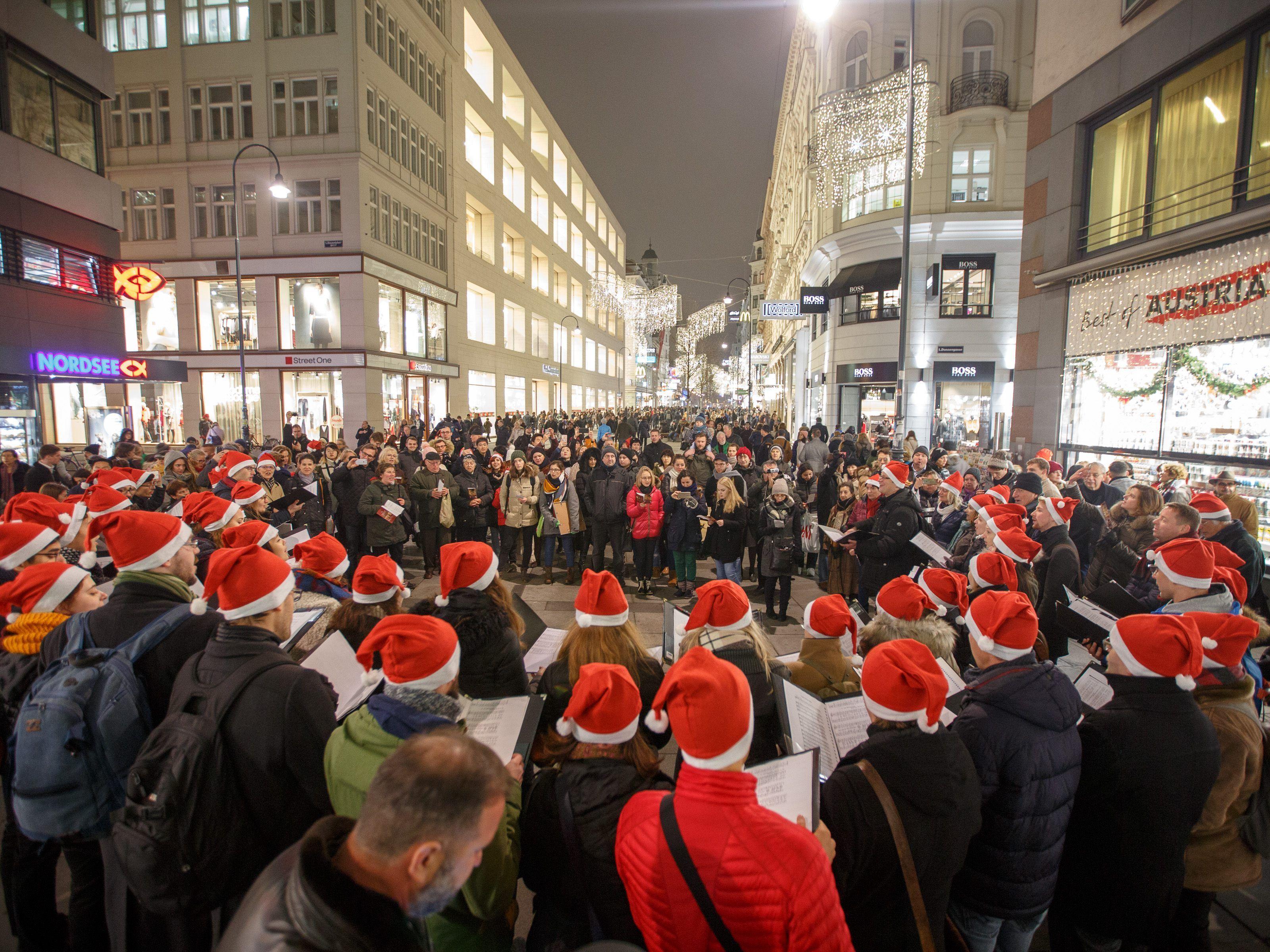 Wann Weihnachtsbeleuchtung.Wiener Weihnachtsbeleuchtung Wird Am 17 November Eingeschaltet