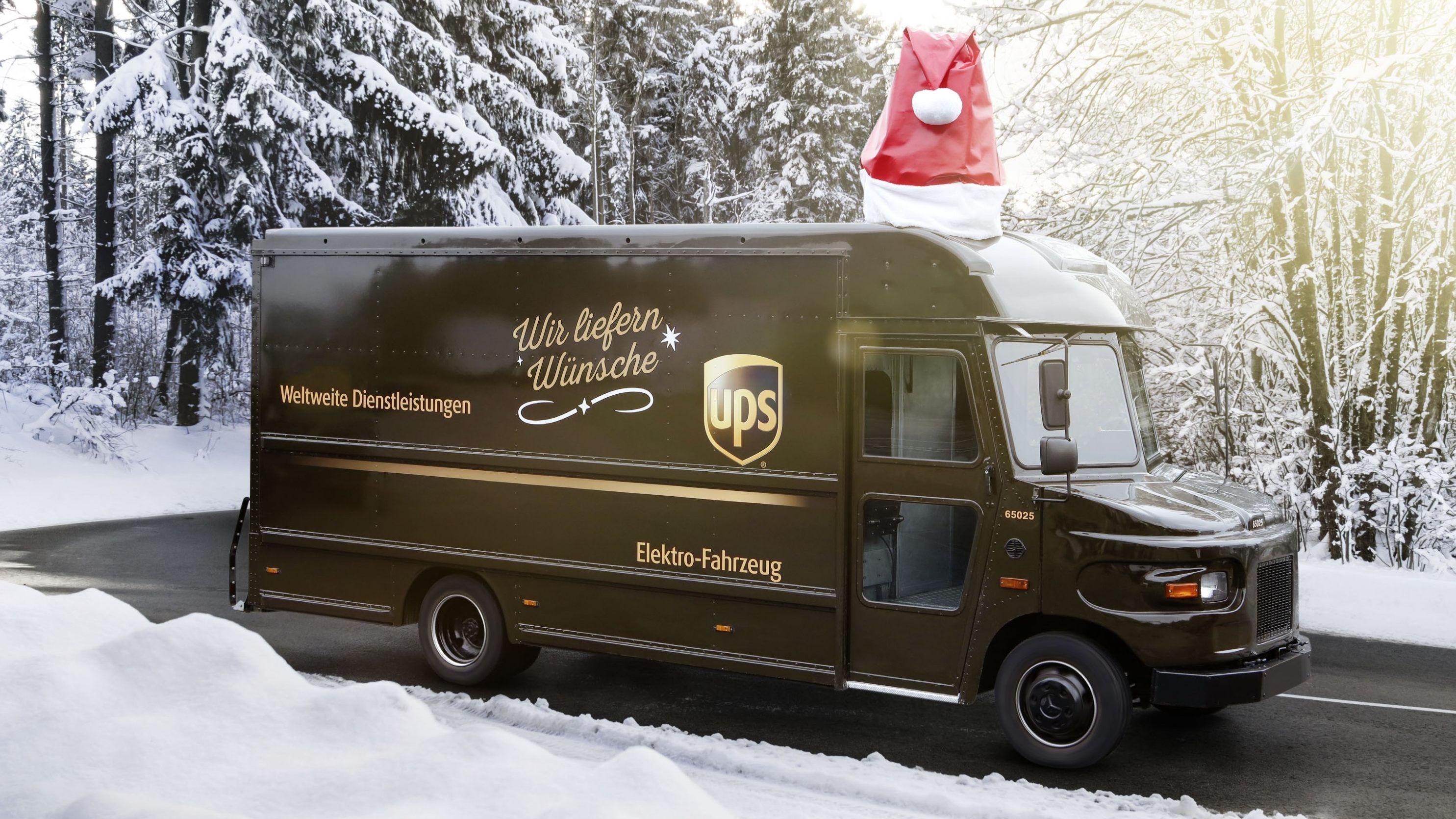 ups christmas truck sammelt spielzeug spenden sterreich vienna at. Black Bedroom Furniture Sets. Home Design Ideas