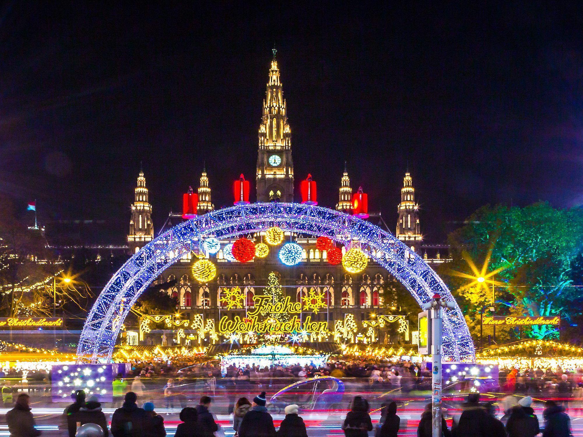 Weihnachtsmarkt Wien Eröffnung.Wiener Weihnachtstraum 2018 Eröffnet Am 16 November Das Programm