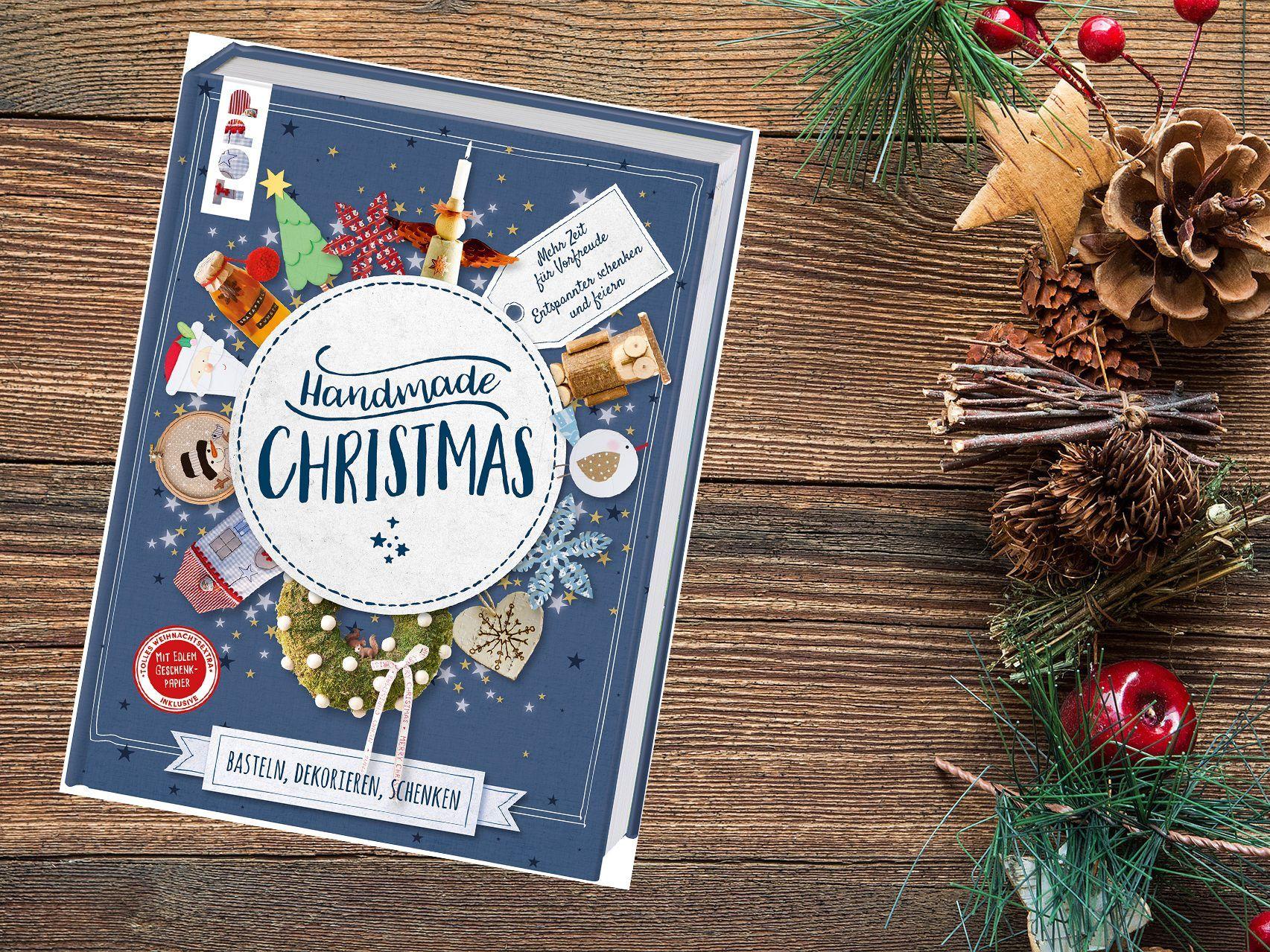 """Gewinnspiel: Mit """"Handmade Christmas"""" durch die Weihnachtszeit ..."""