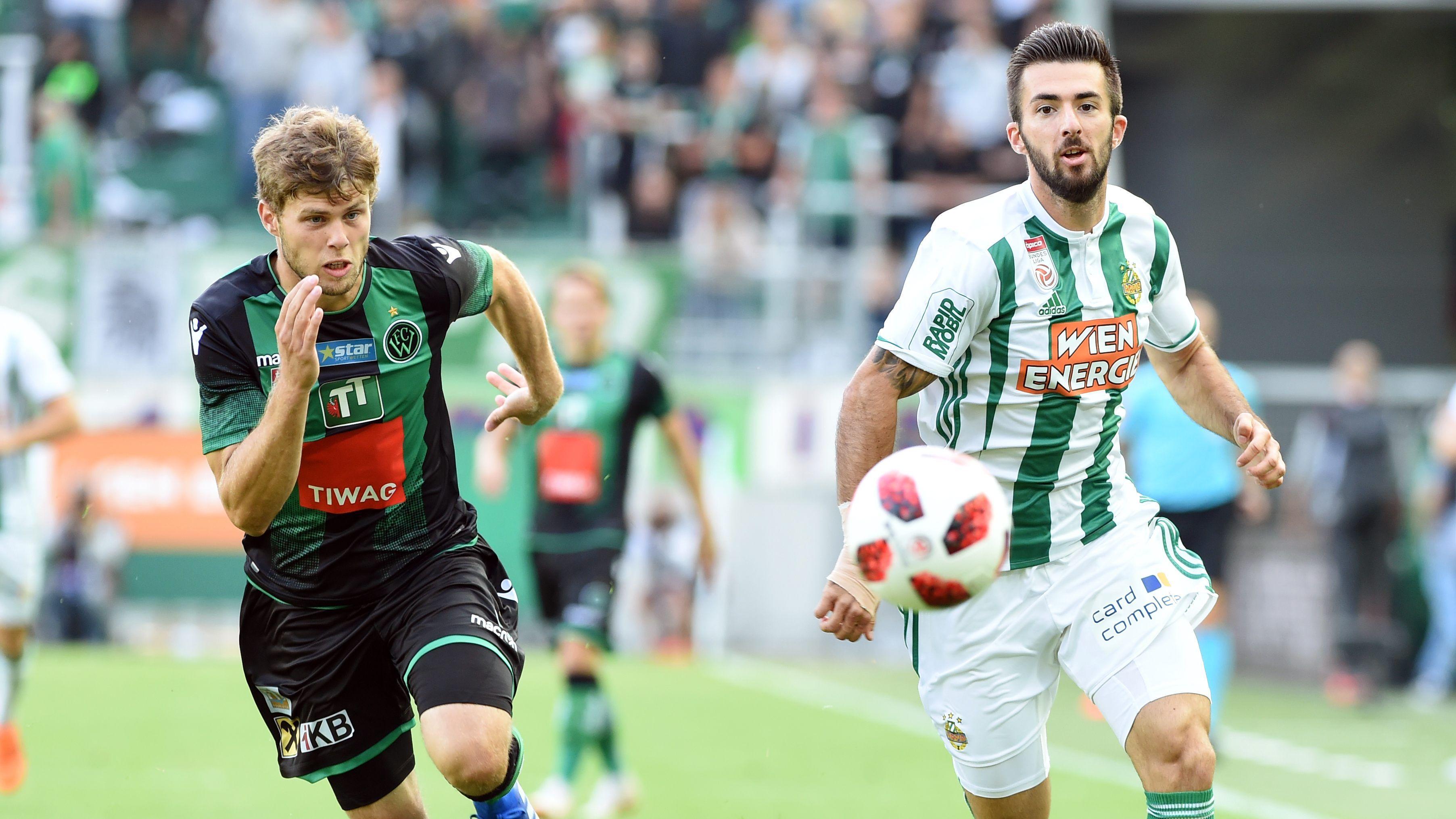 Live Wacker Innsbruck Vs Rapid Vienna In Ticker Fussball