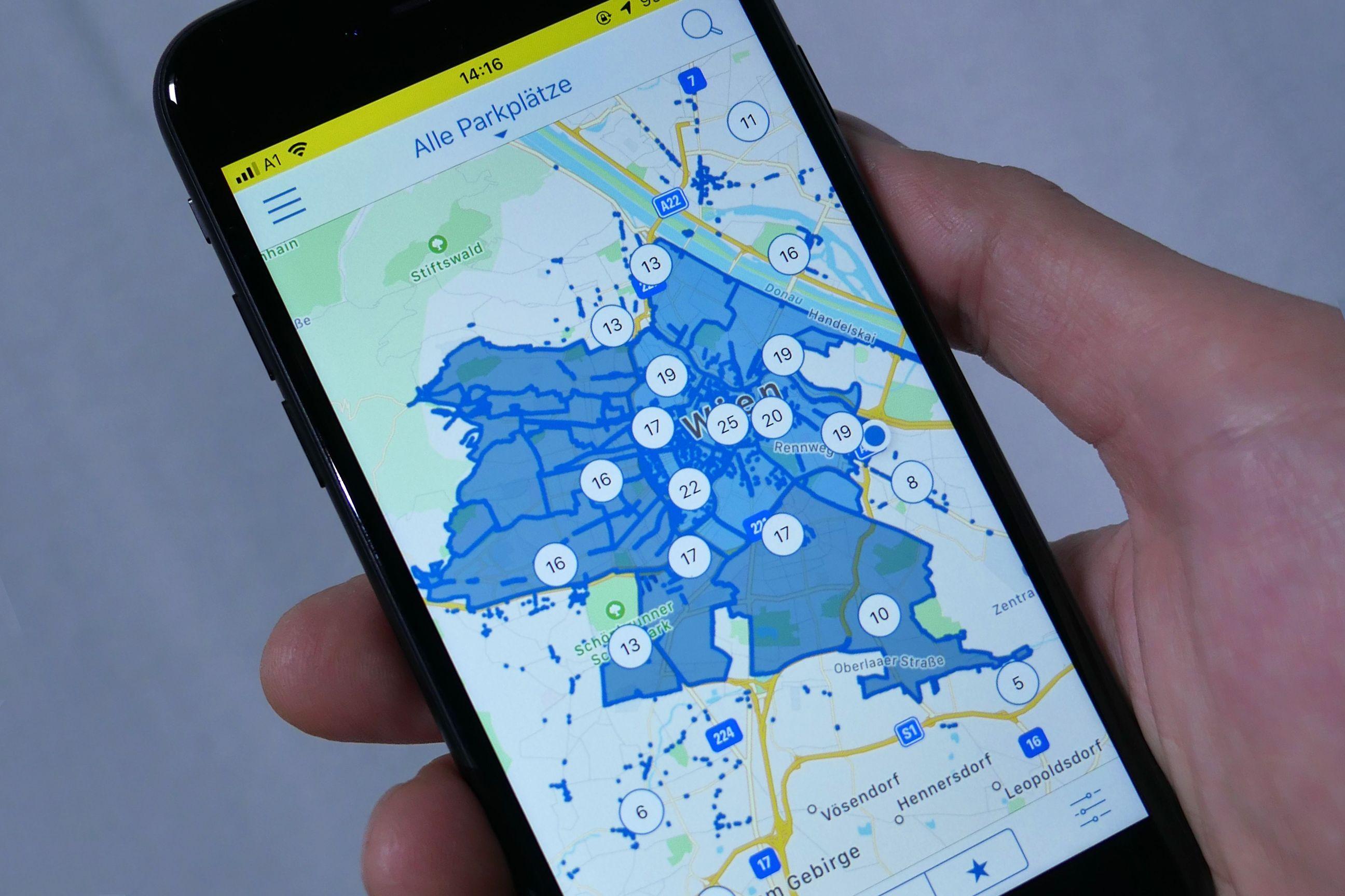 ÖAMTC-App schafft Überblick über Kurzparkzonen in Wien