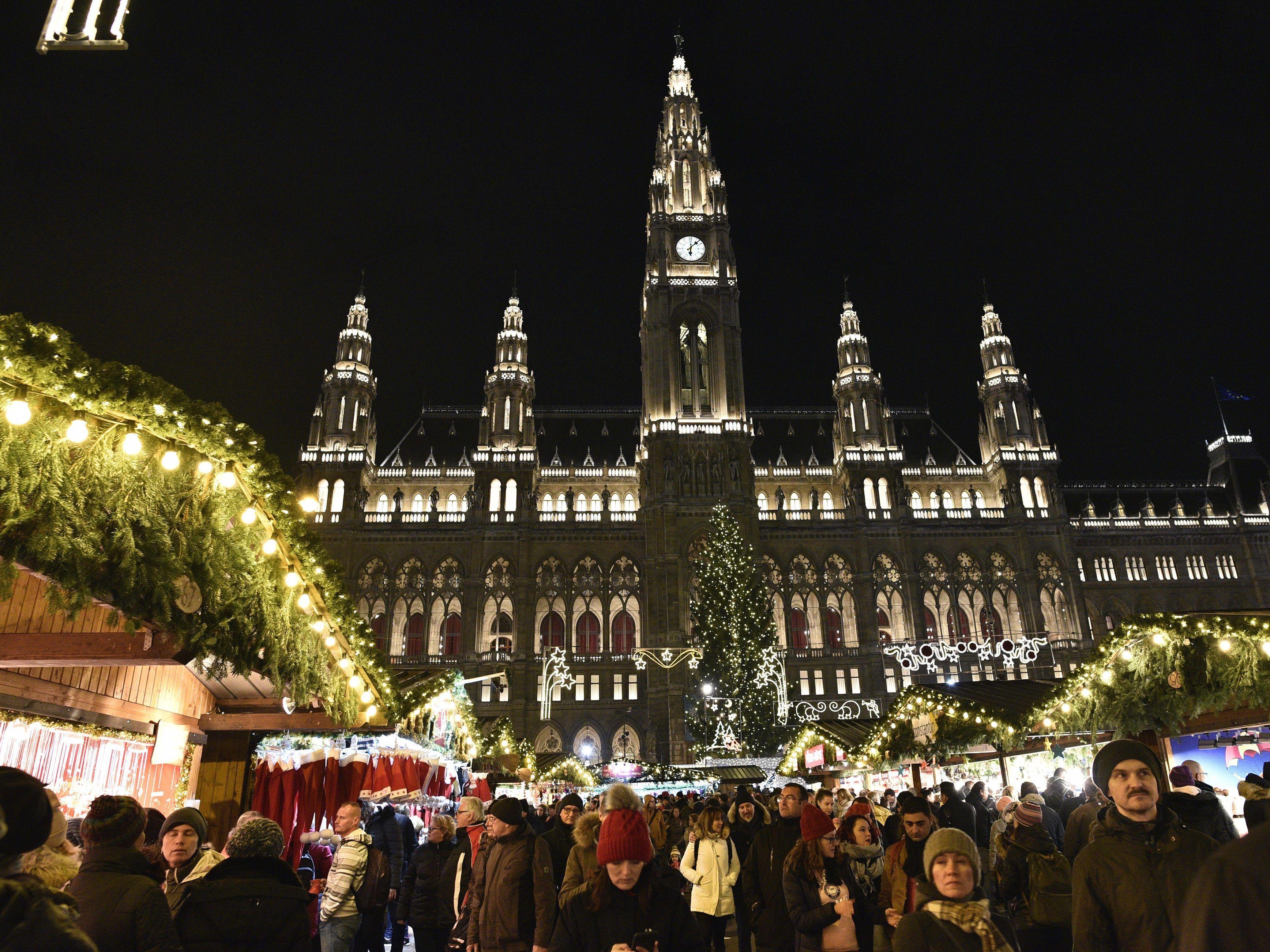 Weihnachtsmarkt Morgen.Rekorde Bei Wiener Weihnachtsmärkten Erwartet Weihnachten In Wien