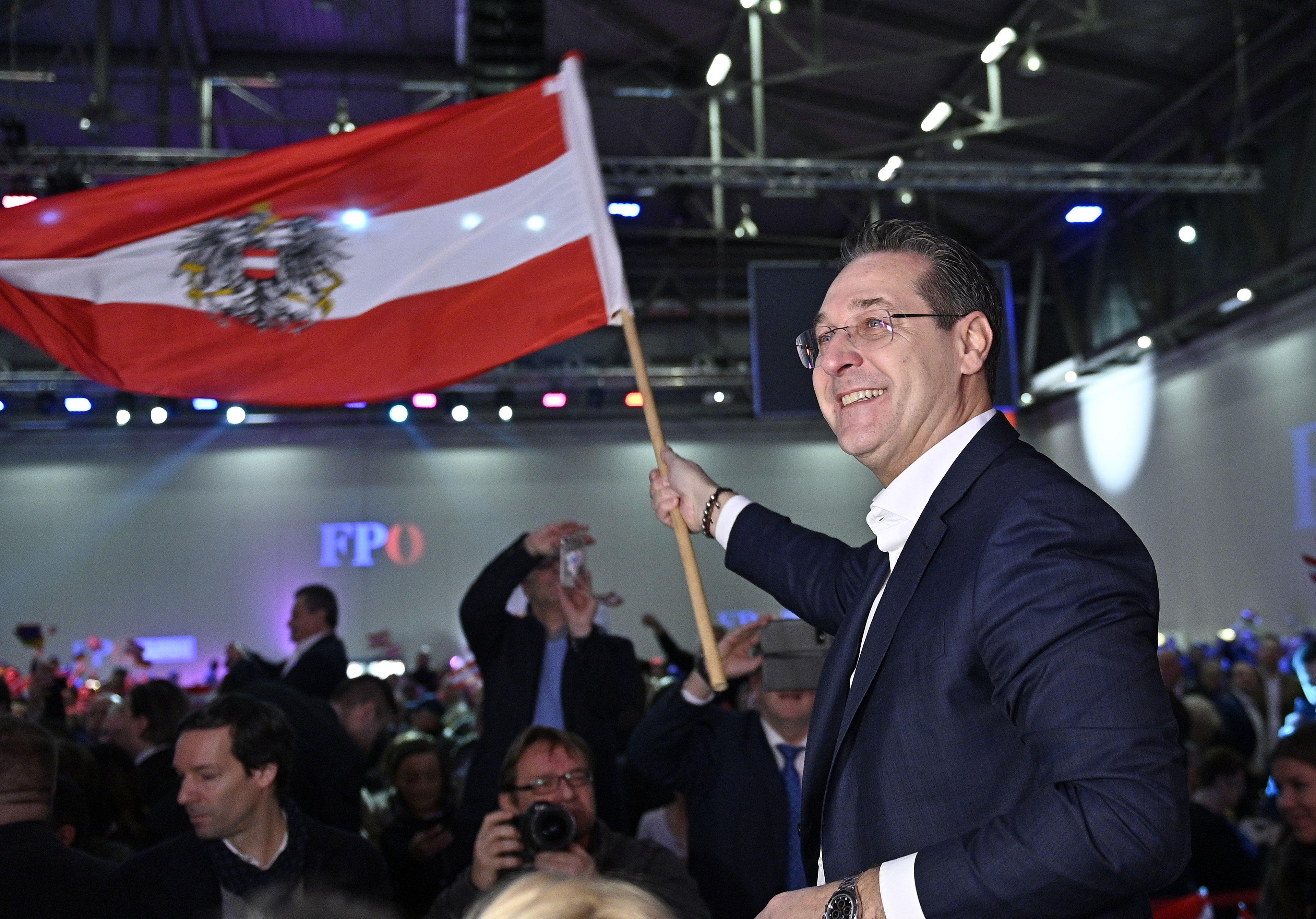 FPÖ bei Neujahrstreffen in Wien im Wahlkampfmodus