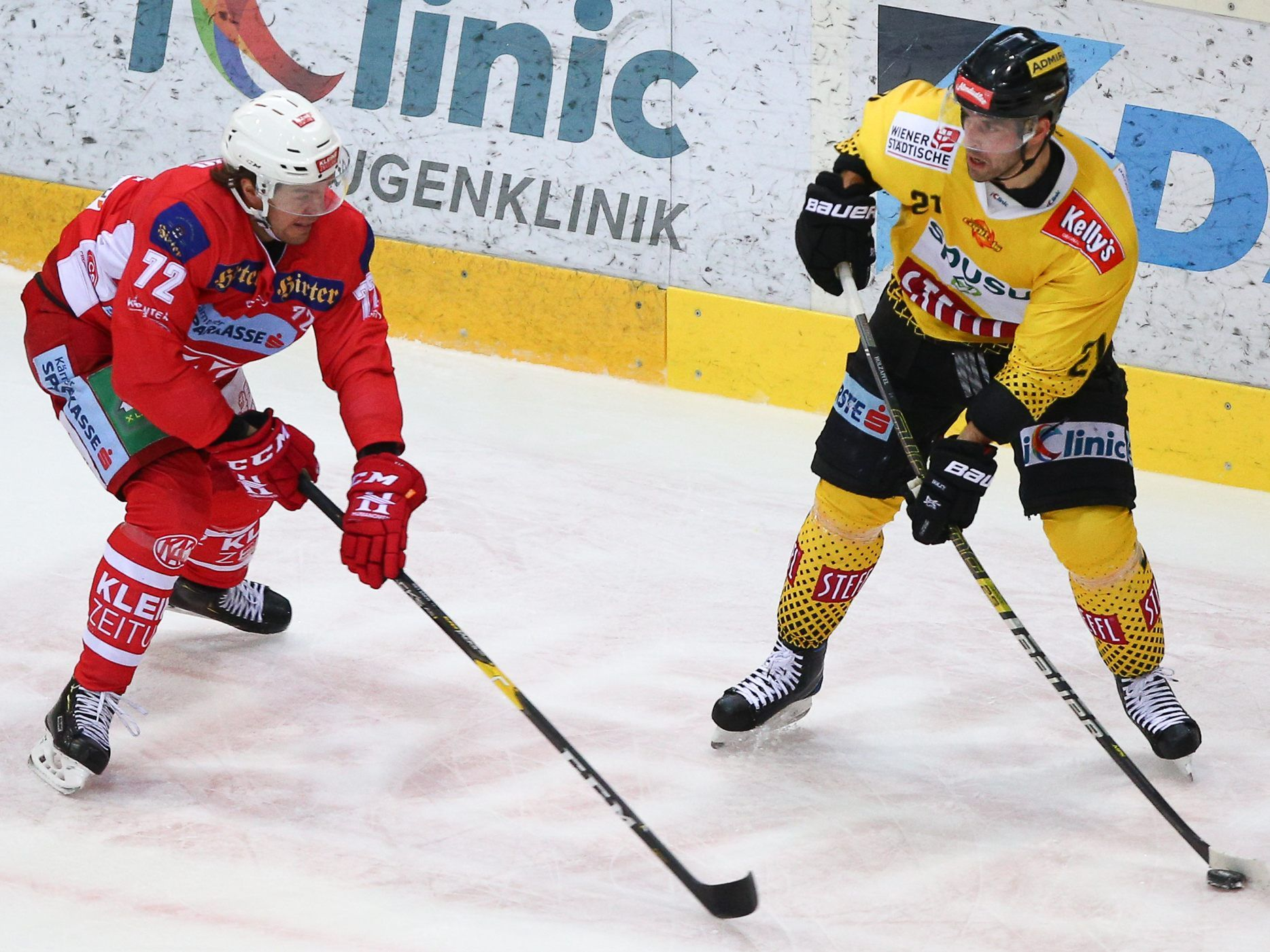 Vienna Capitals vs KAC