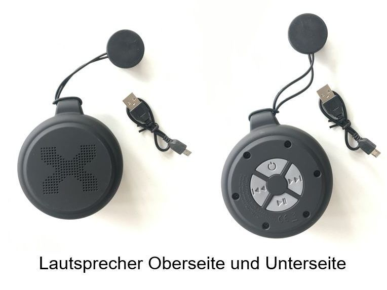 The loudspeaker and charging cable are called up.