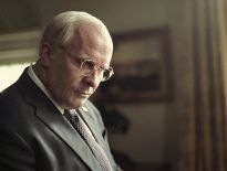 This image released by Annapurna Pictures, Christian Bale portrays Dick Cheney in a scene from