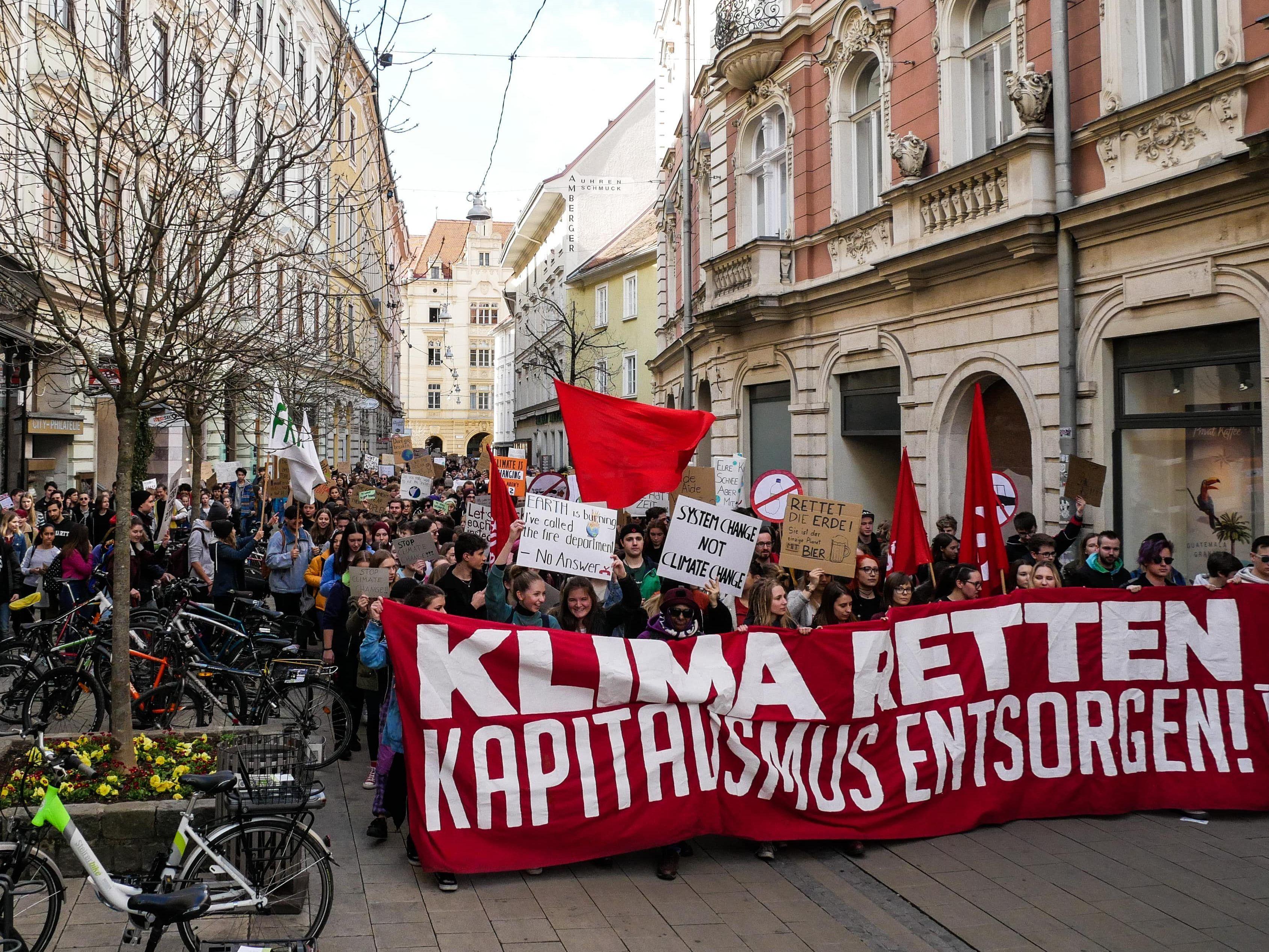 Klima Demo Wien News: Neuer Erlass: Gleicher Umgang Mit Klima-Demo