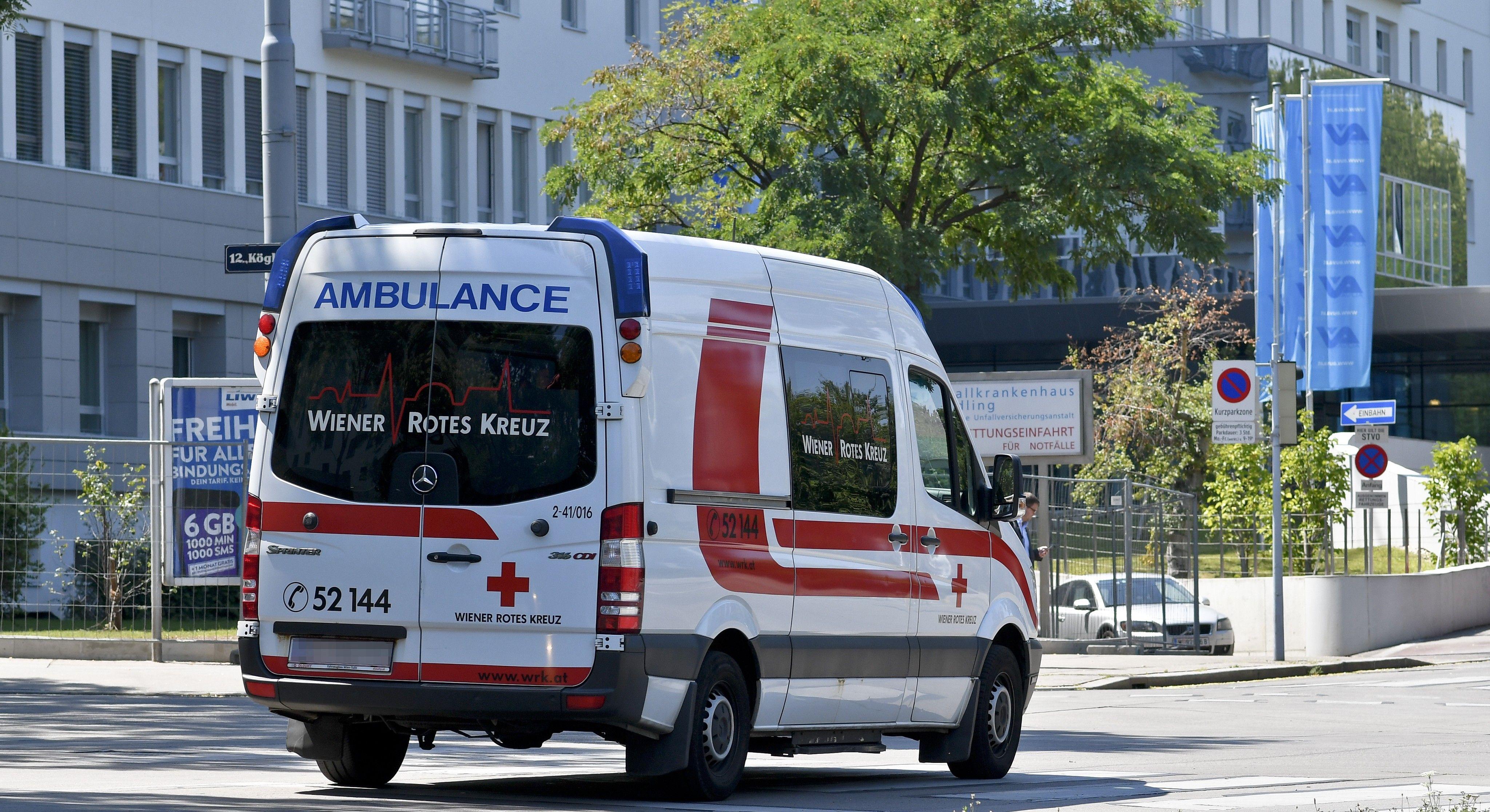 Einsturz bei Hausabbruch in Wien-Floridsdorf: Arbeiter verletzt