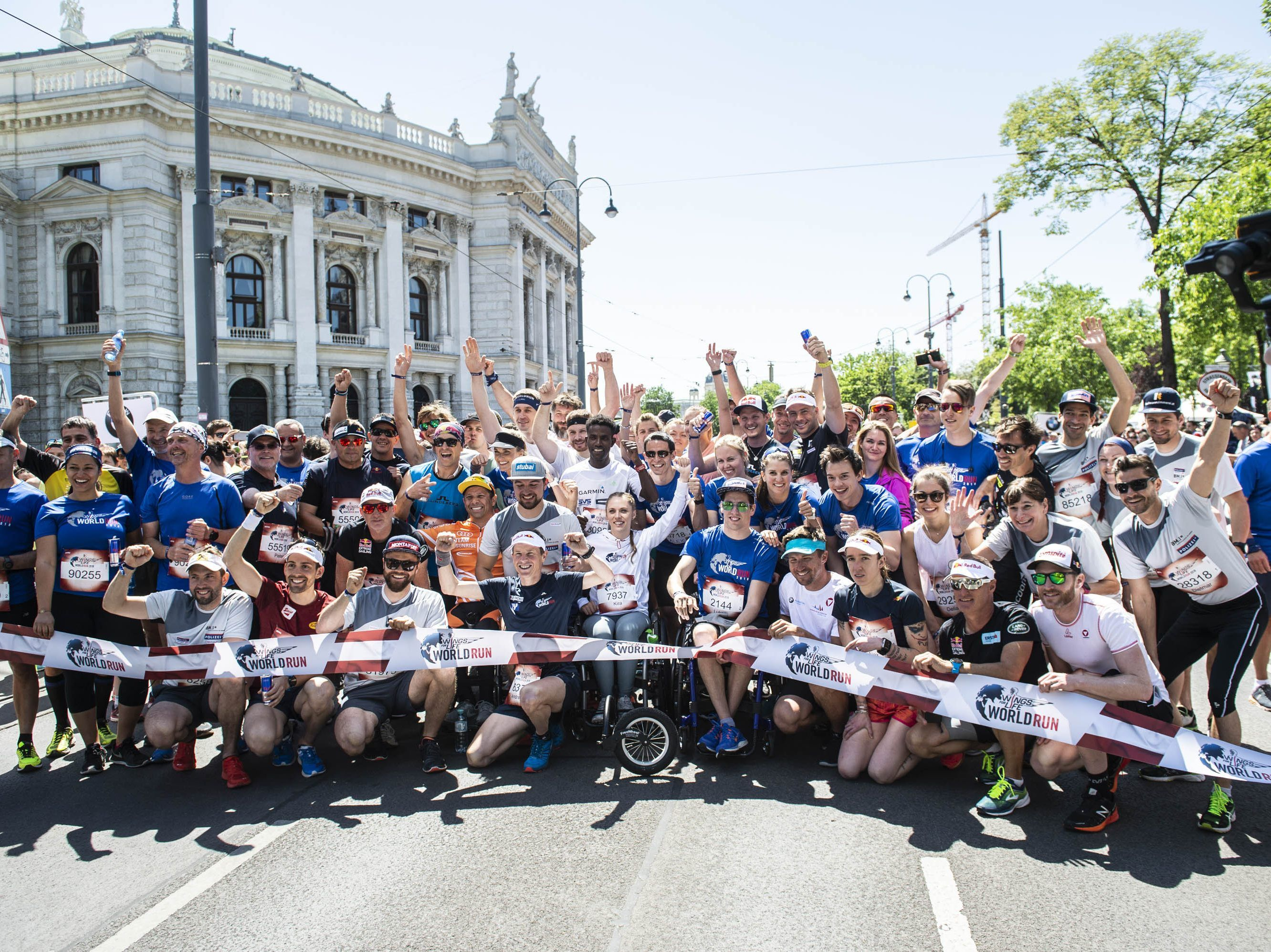 Am 5. Mai findet der Wings for Life World Run statt.