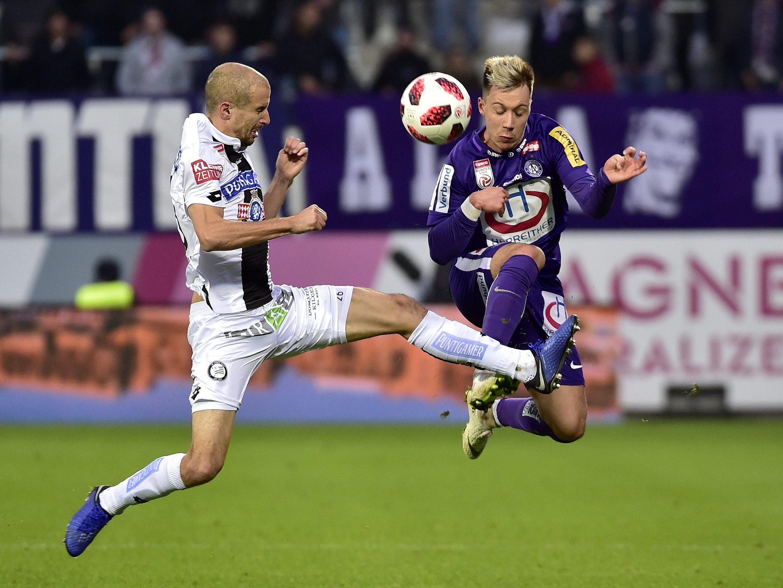 Austria Wien Gegen Sturm Graz