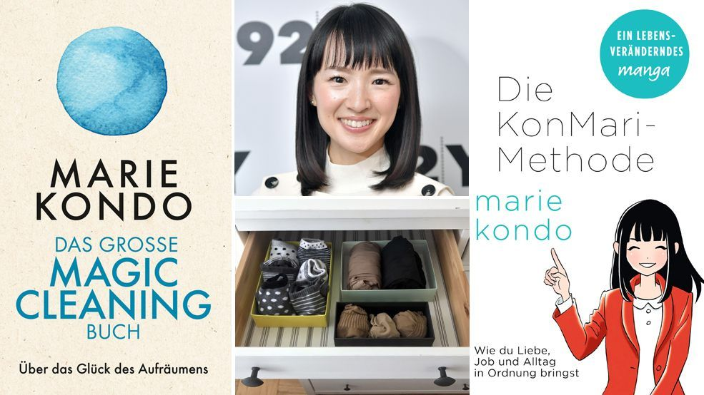 mit marie kondo endlich richtig aufr umen die konmari methode im selbsttest b cher vienna at. Black Bedroom Furniture Sets. Home Design Ideas