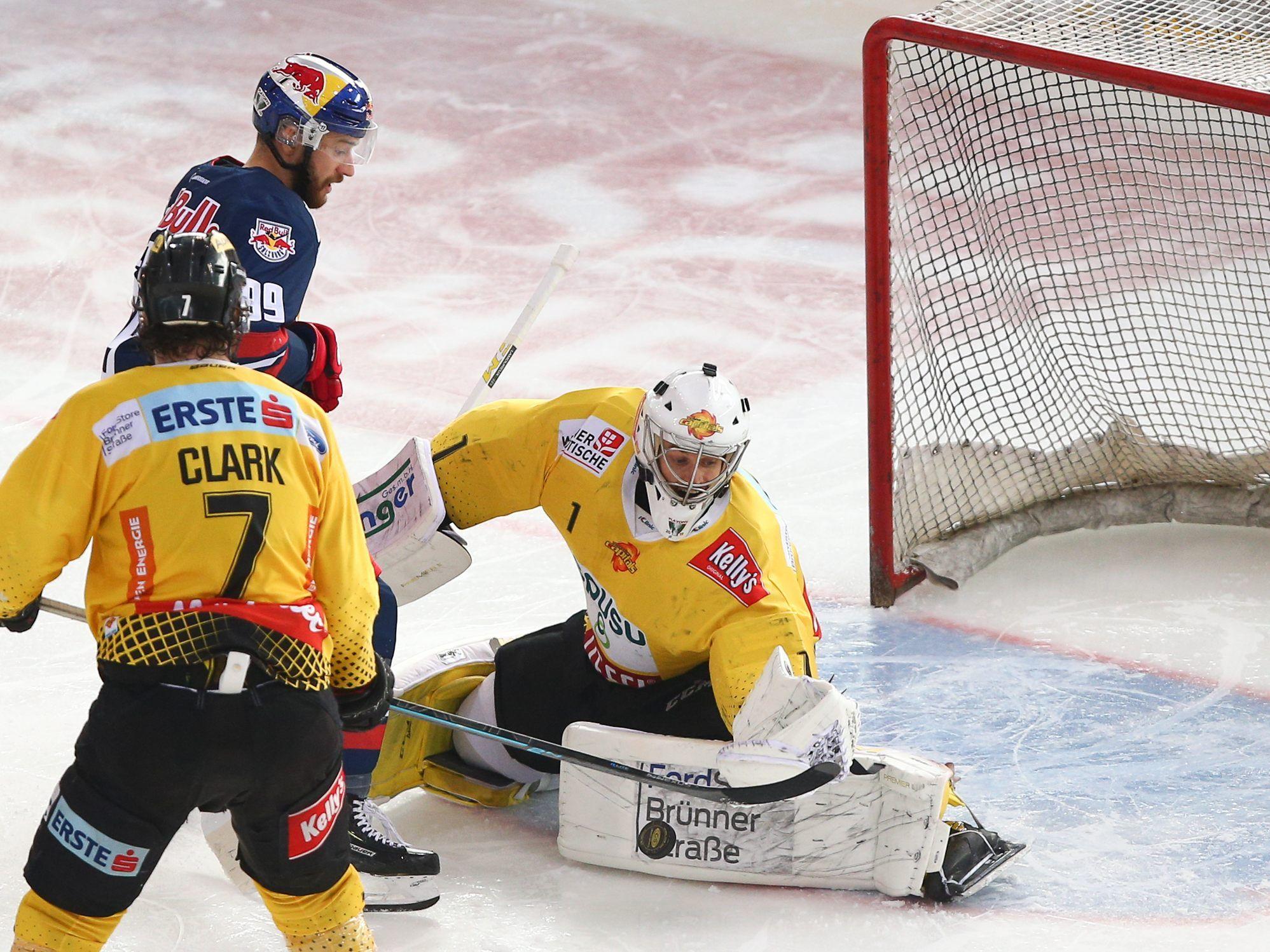 Eishockey Vienna Capitals Siegen Im EBEL Halbfinale 2 1