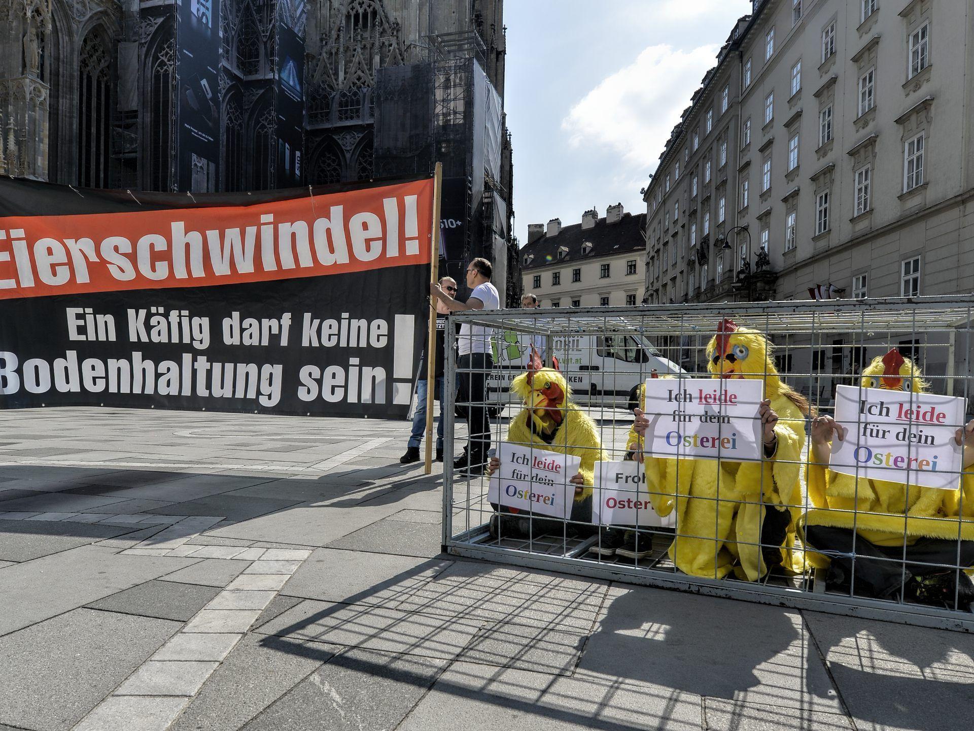Lieber nackt als mit Pelz in Stuttgart: Nackt-Protest