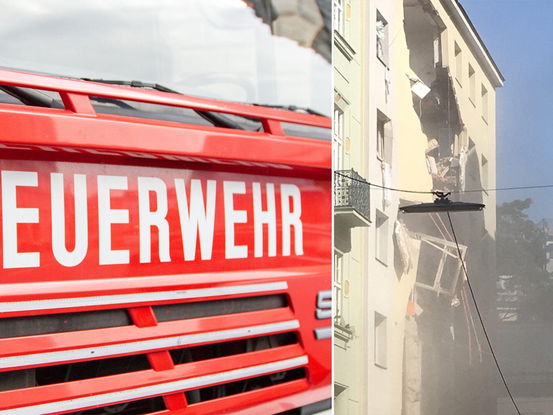 Vier Schwerverletzte nach Explosion in Wien