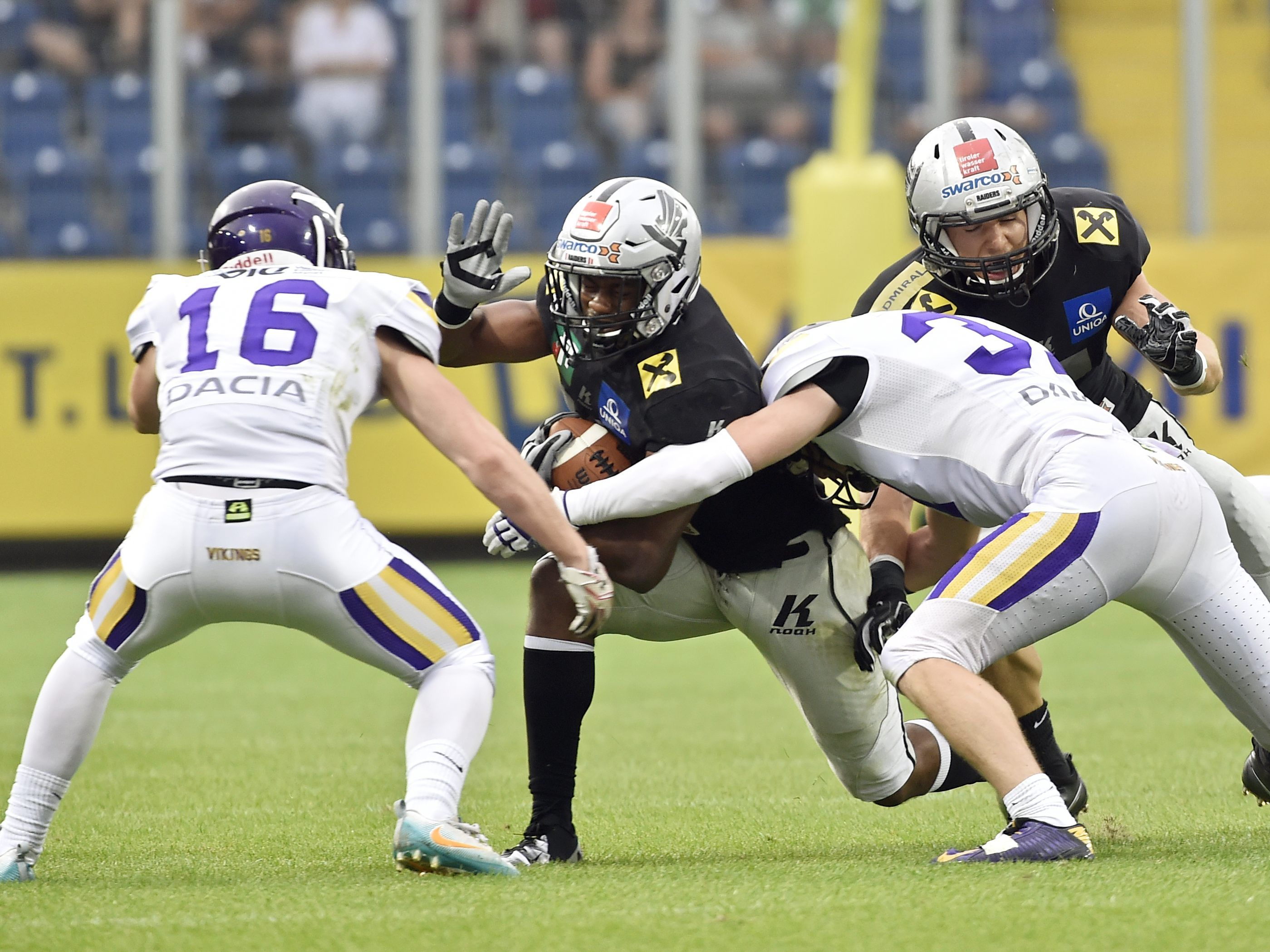Vienna Vikings und Swarco Raiders in der Austrian Bowl 2019.