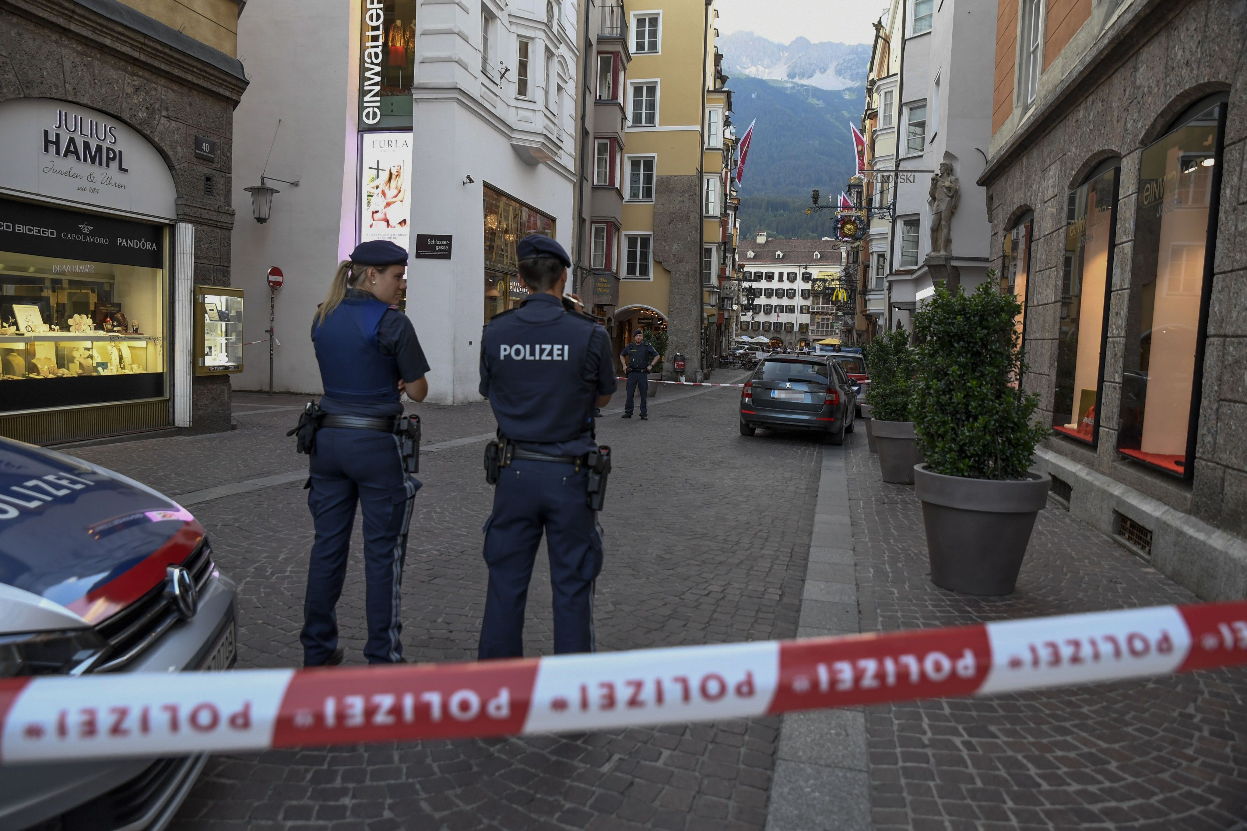19-Jähriger in Innsbruck mit Machete attackiert und schwer verletzt