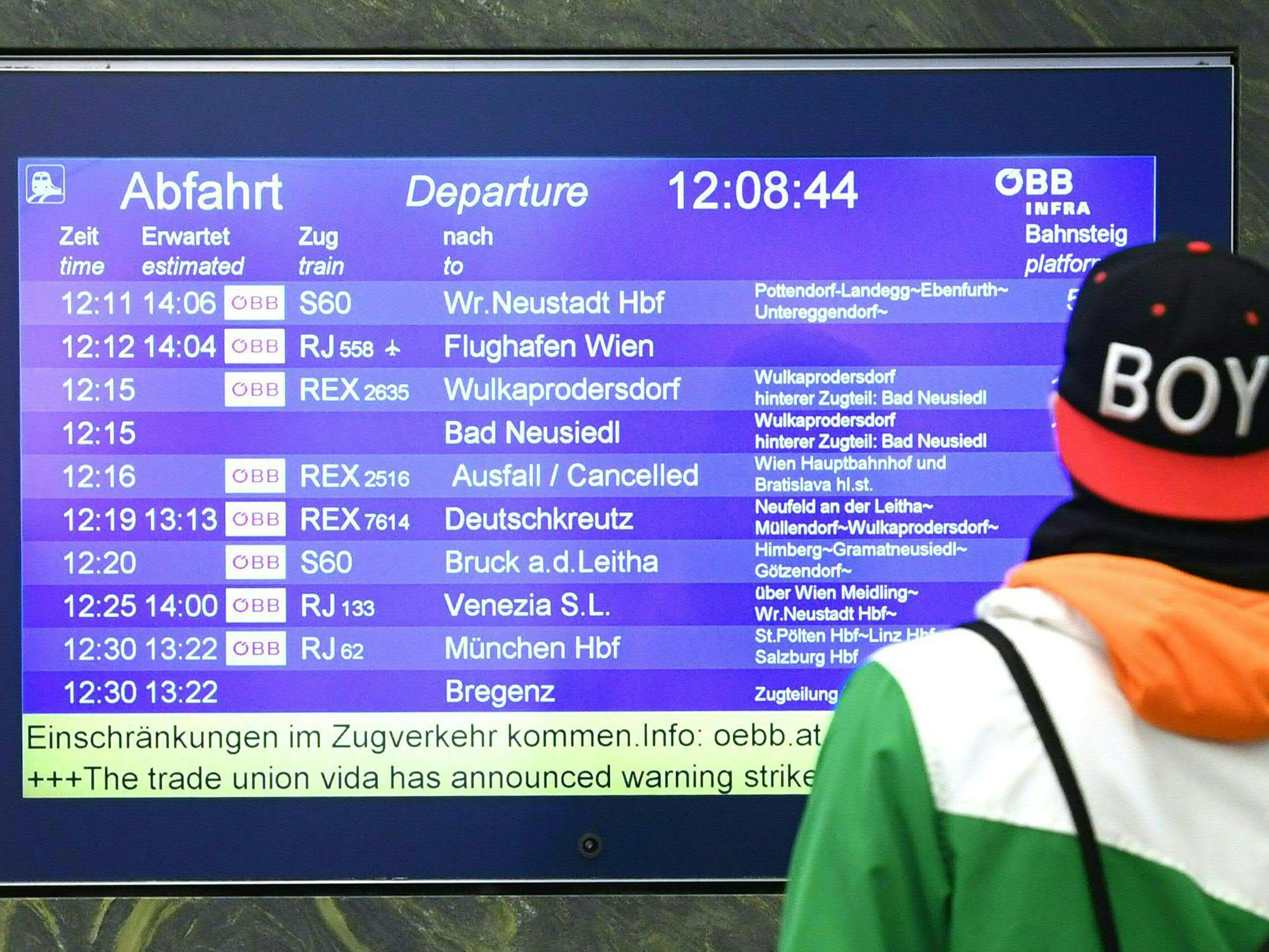 Westbahnstrecke 2800 Züge Fallen Wegen Baustellen Aus