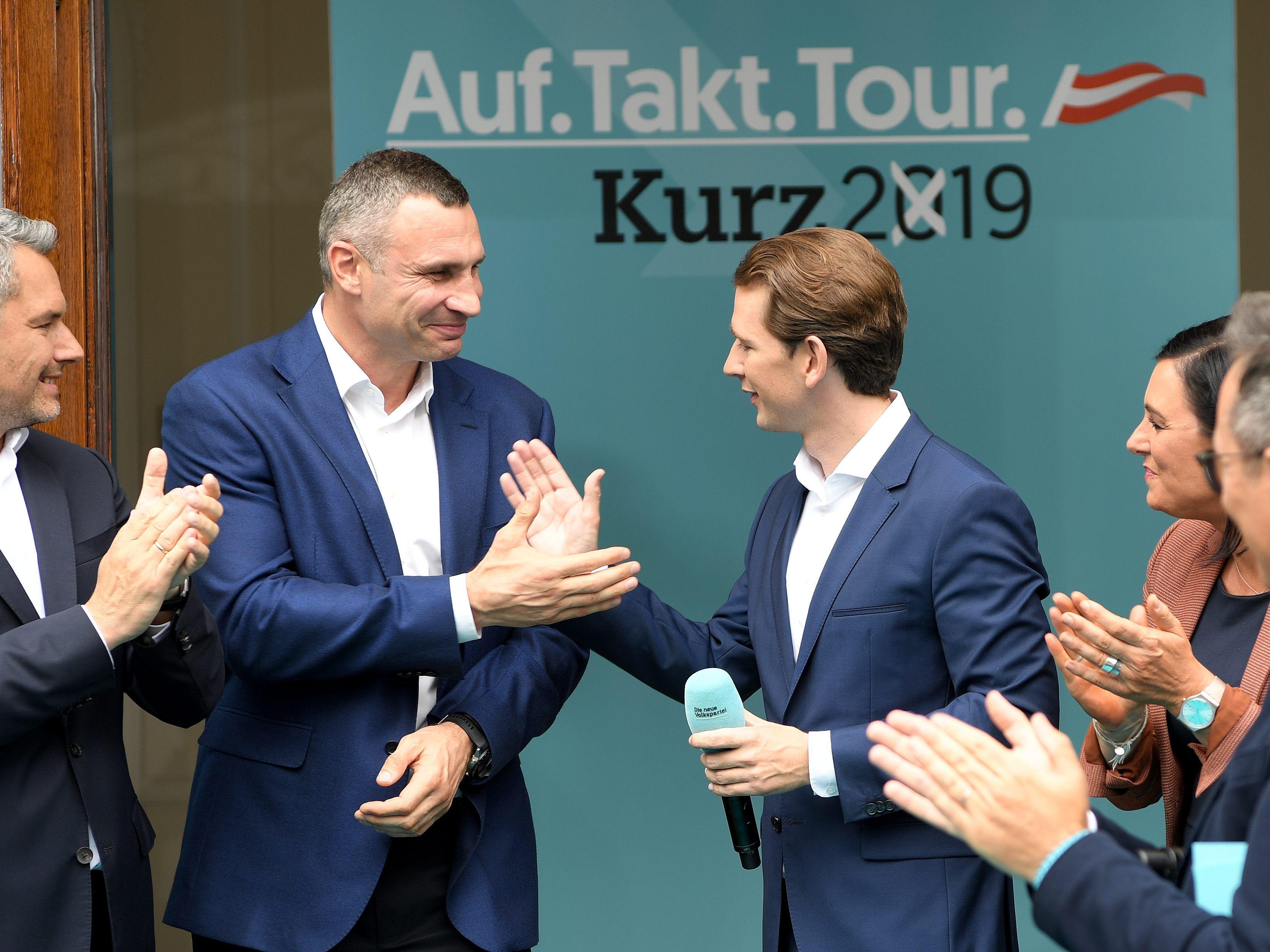 """Sebastian Kurz ist ein richtiger Mann"""": ÖVP in den Wahlkampf"""