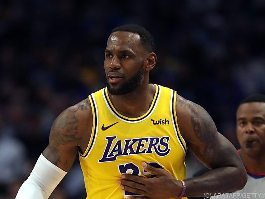 LeBron James legte ein Triple-Double aufs Parkett