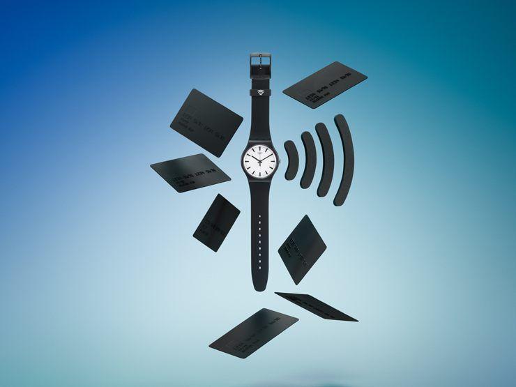 Zahlungsmittel am Handgelenk Die neue SwatchPAY!-Uhr