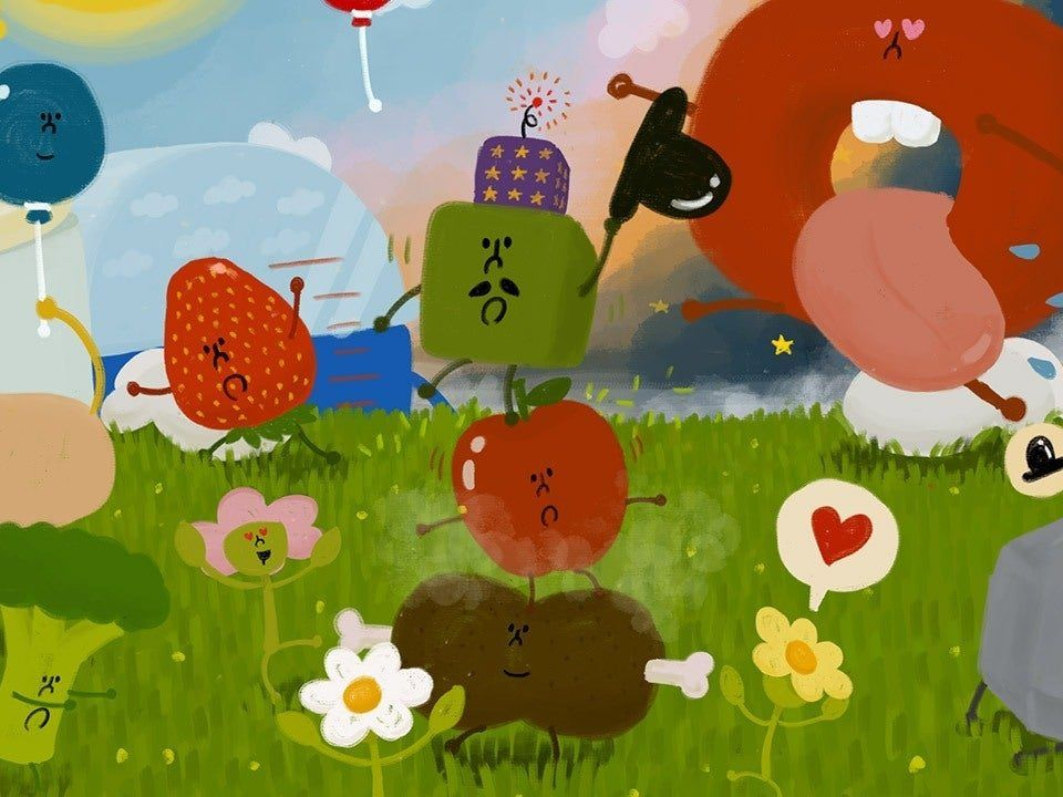"""Wattam"" - ein skurriles Game mit seltsamer Game-Action."