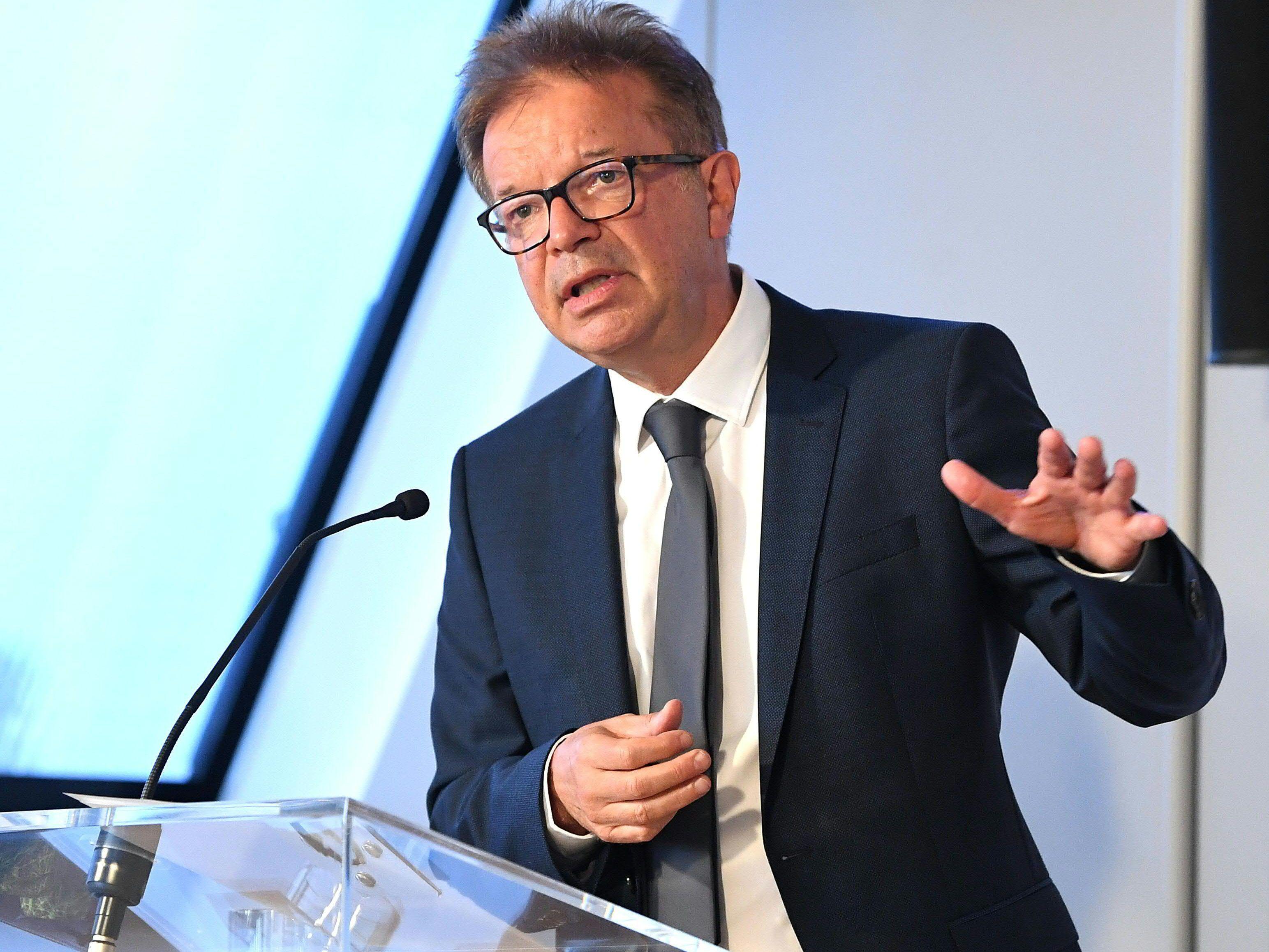 Le ministre de la Santé Rudolf Anschober (Verts) continue de faire appel malgré l'assouplissement